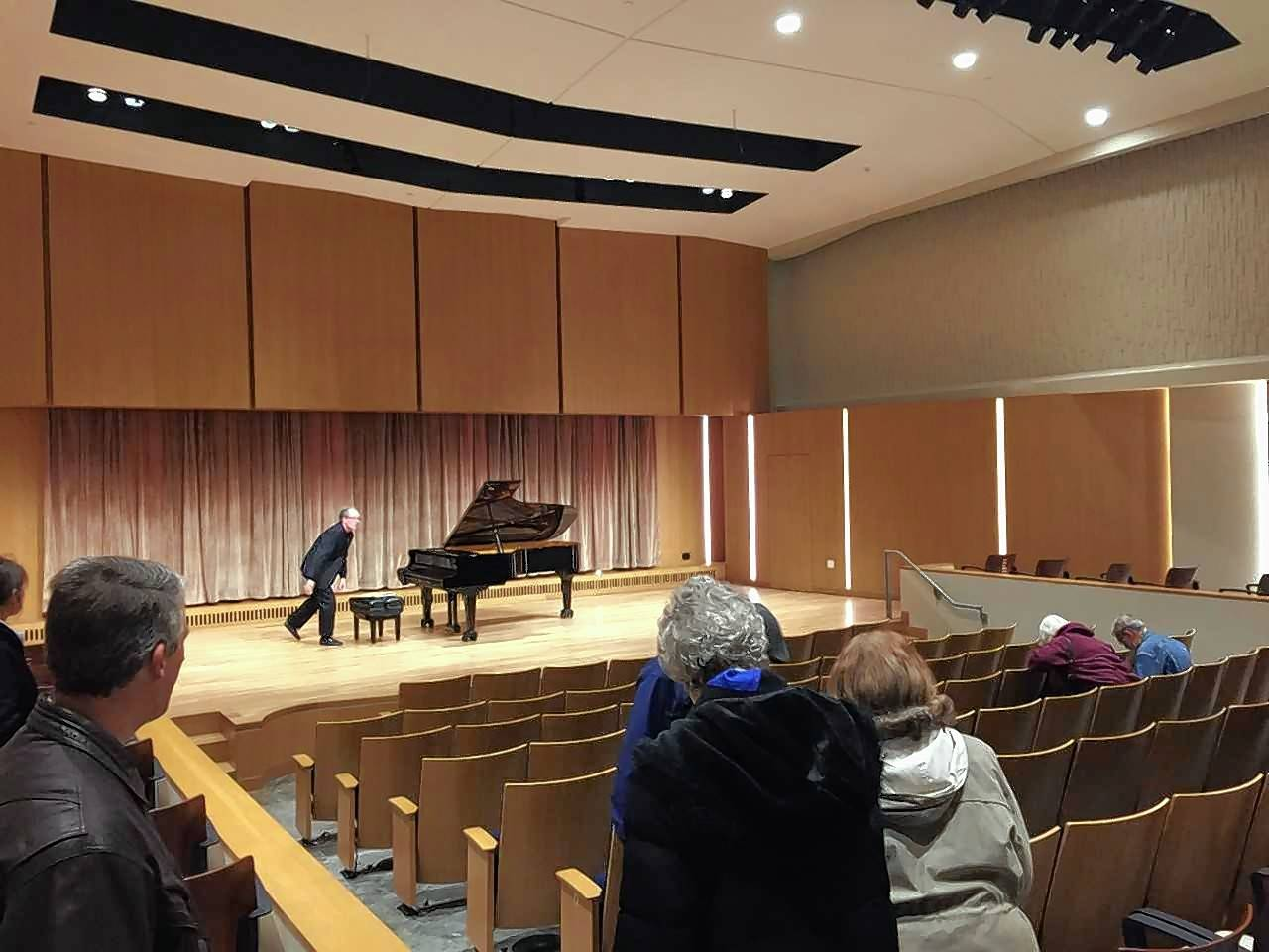 The newly renovated Armerding Center for Music and the Arts includes a new 110-seat recital hall at Wheaton College.