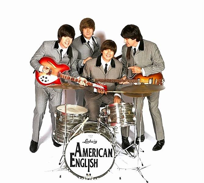 Beatles tribute band American English will headline a Nov. 10 benefit concert in Roselle organized by the Roselle American Legion Post 1084.