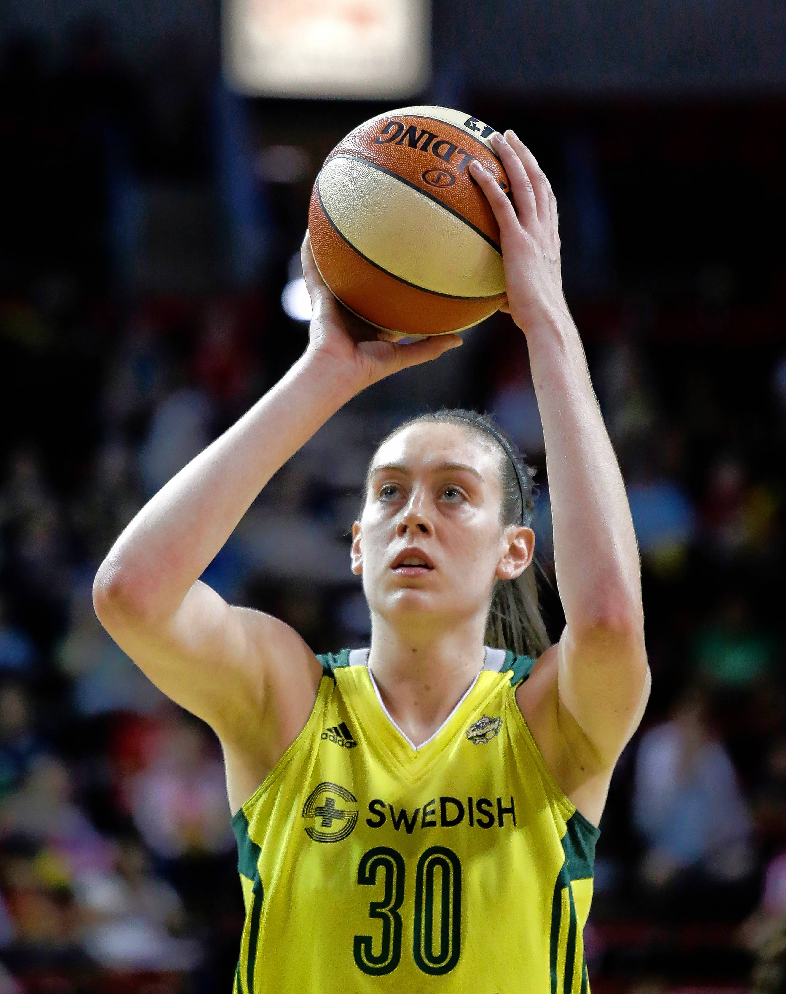 In a Players' Tribune column, WNBA star Breanna Stewart shared her personal story as a victim of sexual abuse as a child.