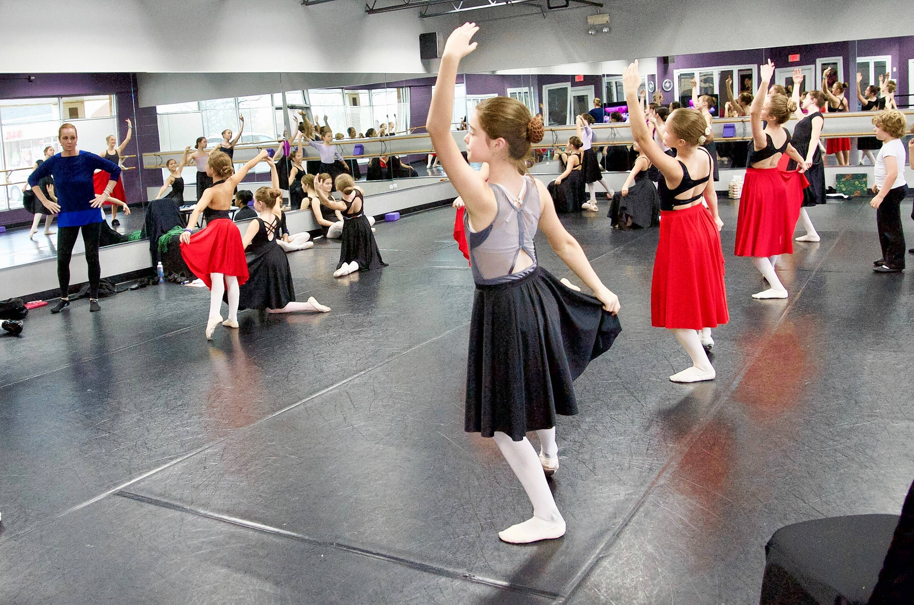 "Rehearsals are now under way for the Chicago Ballet Conservatory's upcoming performances of ""The Nutcracker"" Dec. 2-3 at the Hemmens."