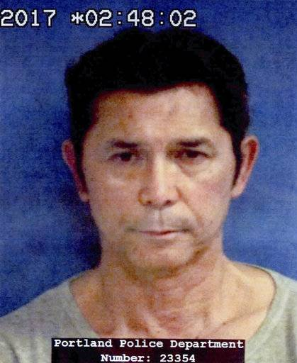 "This undated photo provided by the Portland Police Department shows Lou Diamond Phillips. The actor has been charged with DWI in Texas just hours before a scheduled appearance in Corpus Christi. Police in nearby Portland arrested Phillips early Friday, Nov. 3, 2017. Jail records show bond wasn't immediately set for Phillips, who starred in ""La Bamba.""  (Portland Police Department via AP)"