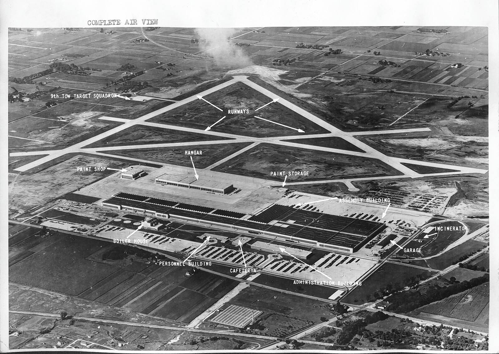 The small Cook County farm town of Orchard Place was chosen in 1942 to be the site of the Douglas Aircraft Co. manufacturing facility. Today, the property is home to O'Hare International Airport, but it still goes by the abbreviation ORD for Orchard.