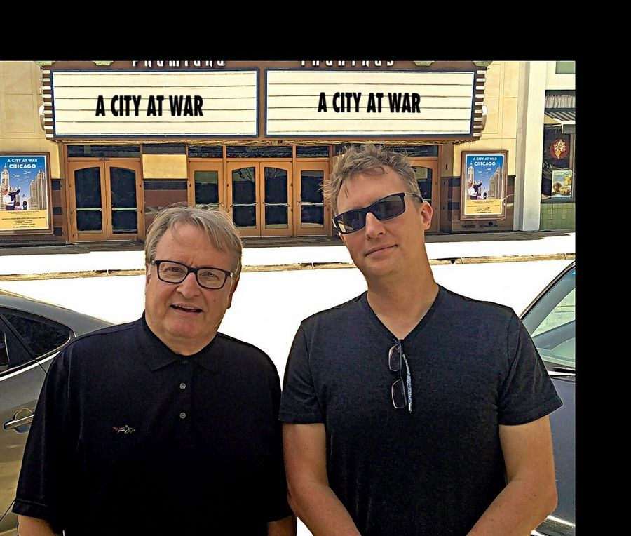 "Former Wheaton resident John Davies and former Chicagoan Brian Kallies did lots of film and TV work in Chicago. So it seems natural that they teamed up to create the documentary, ""A City At War: Chicago,"" which airs at 8 p.m. Thursday on WTTW."