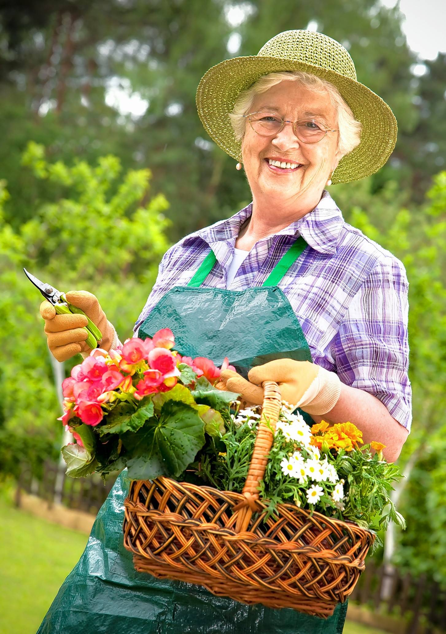 Simple things, like working in a garden, can give an older adult a sense of purpose.