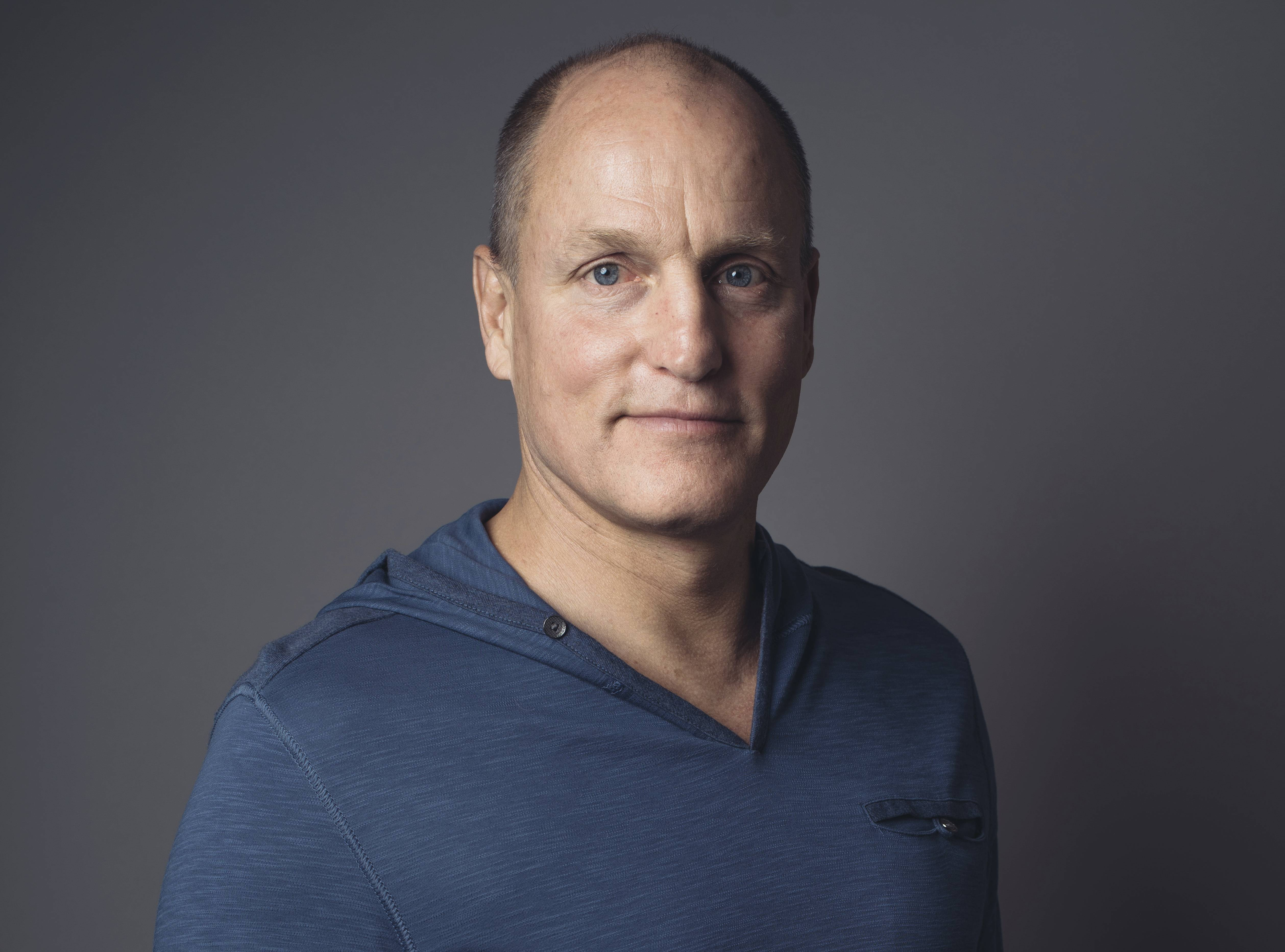 "Woody Harrelson talks about his upcoming film, ""Three Billboards Outside Ebbing, Missouri."""