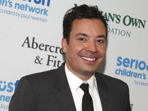 "FILE - In this May 23, 2017 file photo, Jimmy Fallon attends the SeriousFun Children's Network Gala at Pier Sixty in New York. A spokeswoman for Fallon said Gloria Fallon, mother of ""Tonight Show� host Jimmy Fallon, died Saturday, Nov. 4, 2017, at a New York City hospital with her son and other family by her side. She was 68 years old. (Photo by Andy Kropa/Invision/AP, File)"