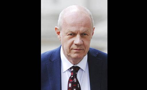 "FILE - This July 4, 2016 file photo shows Britain's First Secretary of State Damian Green in London. The scandal surrounding Britain's political class deepened Sunday Nov. 5, 2017, with more allegations of sexual harassment, abuse of power and other misdeeds including new allegations about one of Prime Minister Theresa May's key allies.  First Secretary of State Damian Green, a senior Cabinet figure who is in effect May's deputy, denied a Sunday Times claim that police had found ""extreme� pornography on his computer during an investigation nine years ago. (Andrews Matthews/PA via AP, file)"