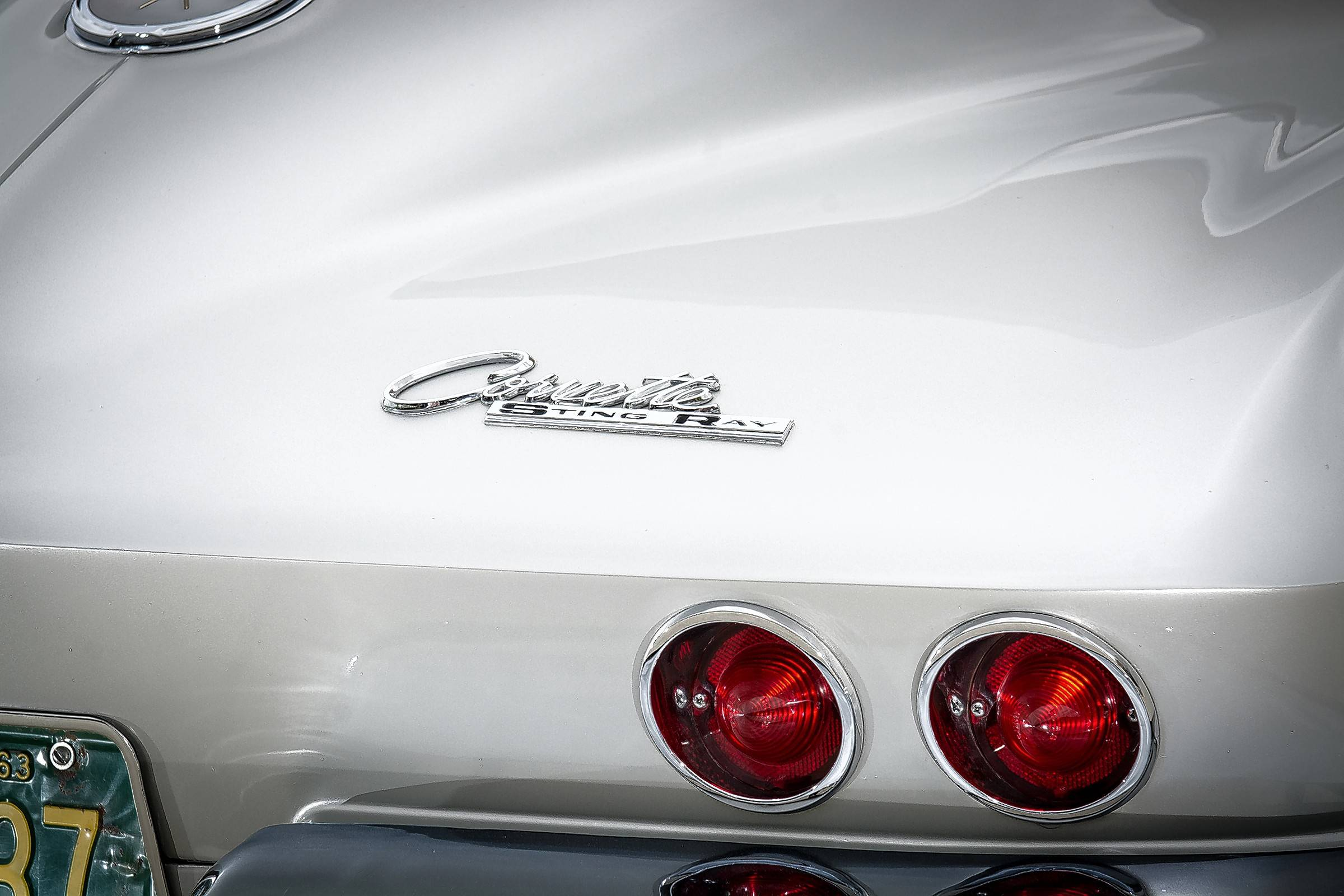 The Bombens returned the Corvette to its original Sebring Silver color.