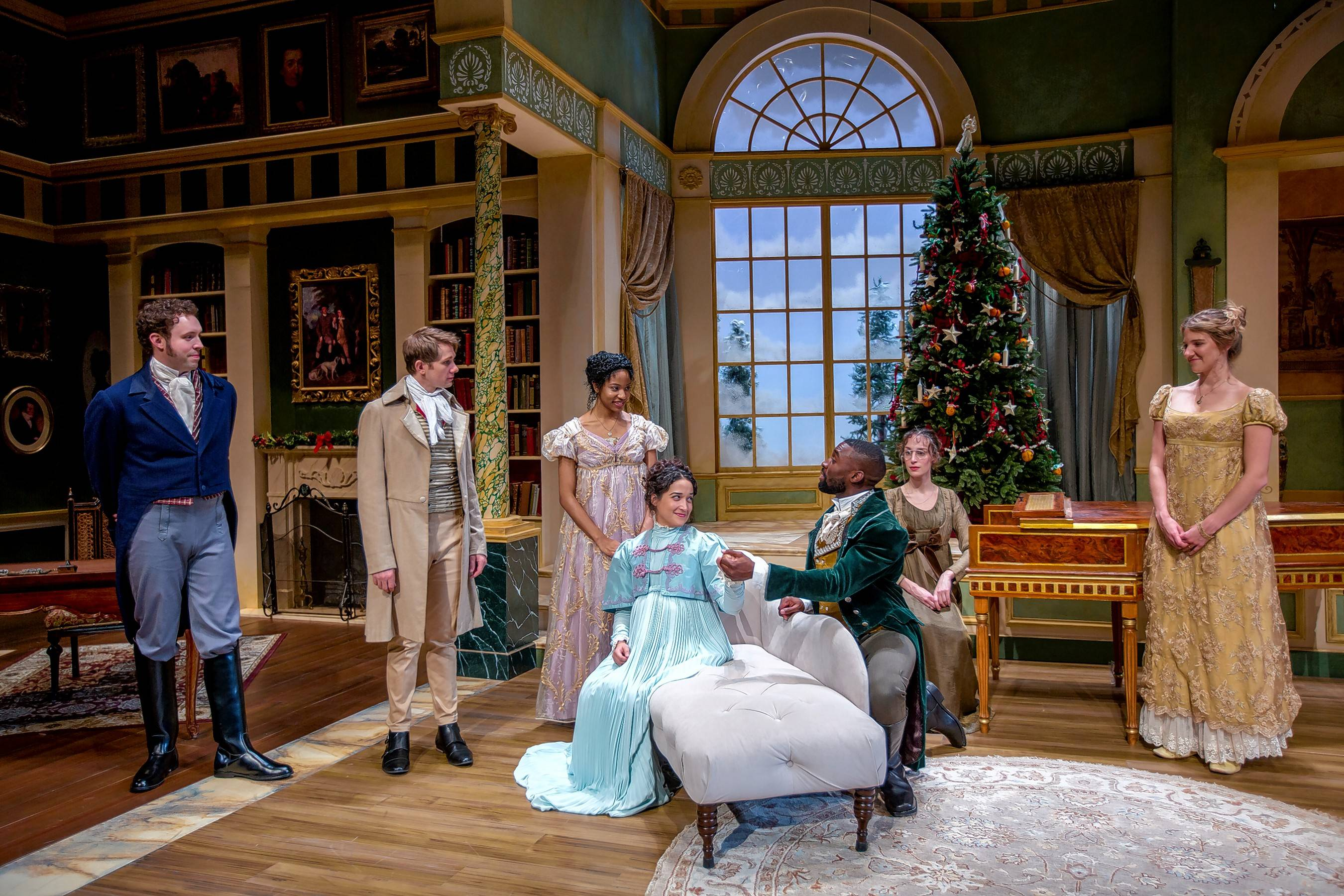 """Miss Bennett: Christmas at Pemberley, by Lauren Gunderson and Margot Melcon was one of three plays that tied for best new work during Monday's 49th annual equity Joseph Jefferson Award Ceremony."