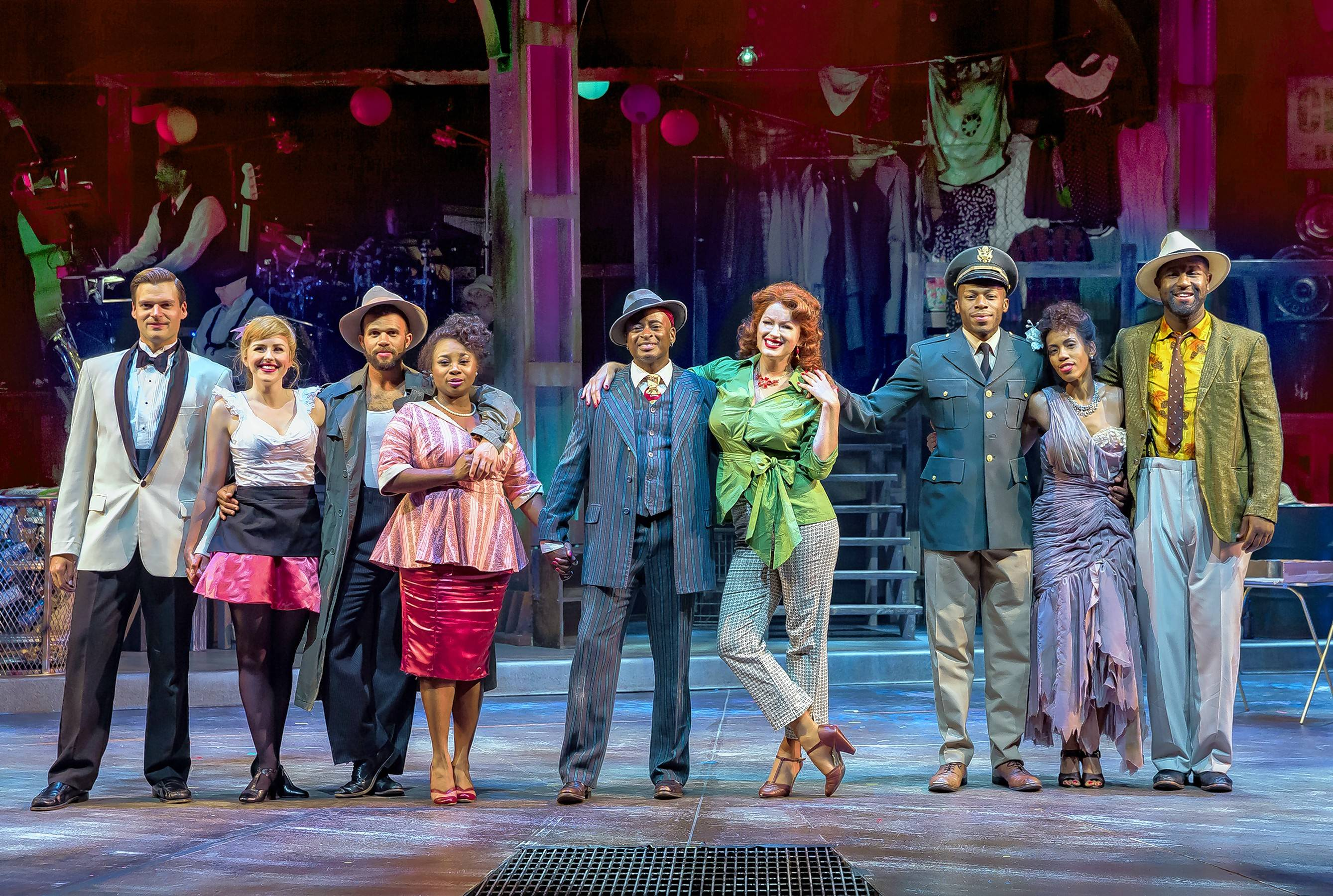 "Drury Lane Theatre's artfully conceived and beautifully sung revival of ""Smokey Joe's Cafe"" earned the 2017 equity Jeff Award for best revue."