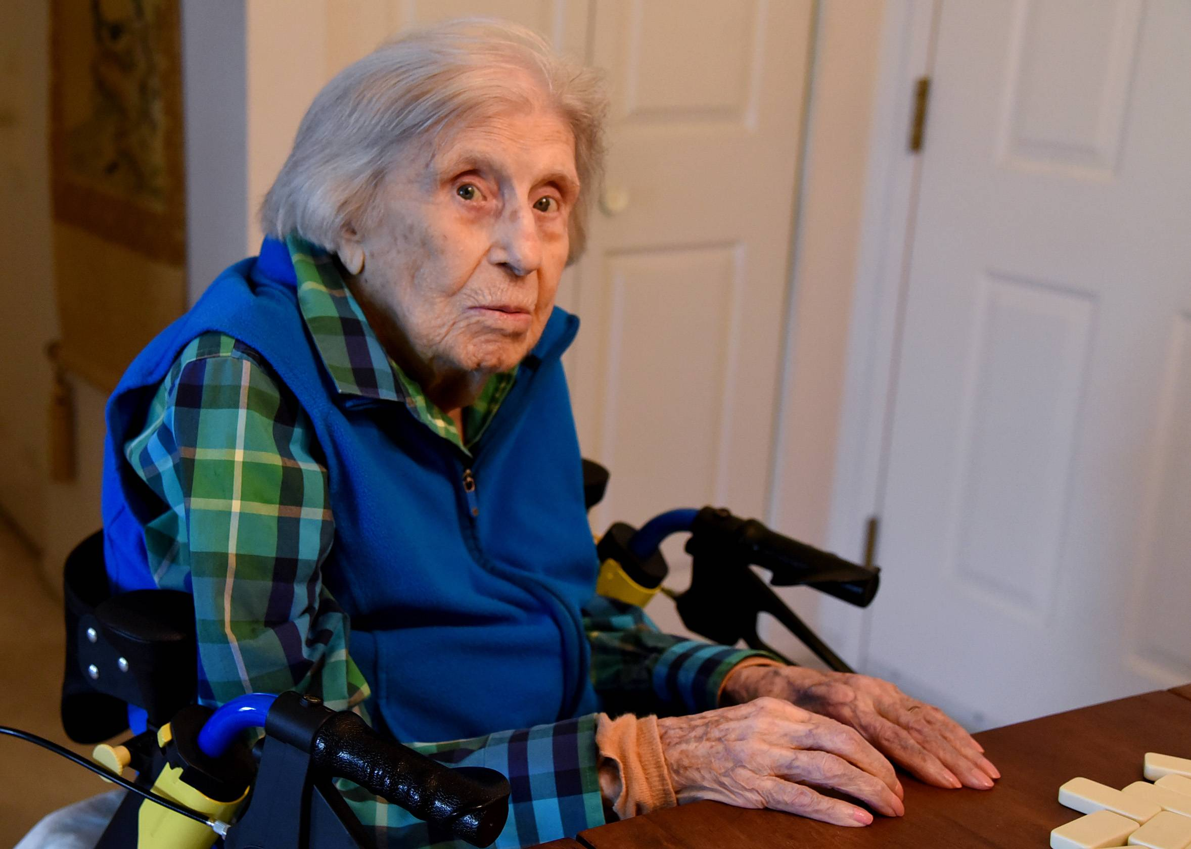 Lois Arbanas will join some select company -- about one in 5 million people -- when she turns 110 next month.