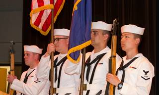 A Navy color guard will participate in CLC's Veterans Day Ceremony, which starts at 12:30 p.m. Nov. 10. The day's events will also include a veterans breakfast at 9:30 a.m., a resource fair and ceremony, co-sponsored by the Captain James A. Lovell Federal Health Care Center.