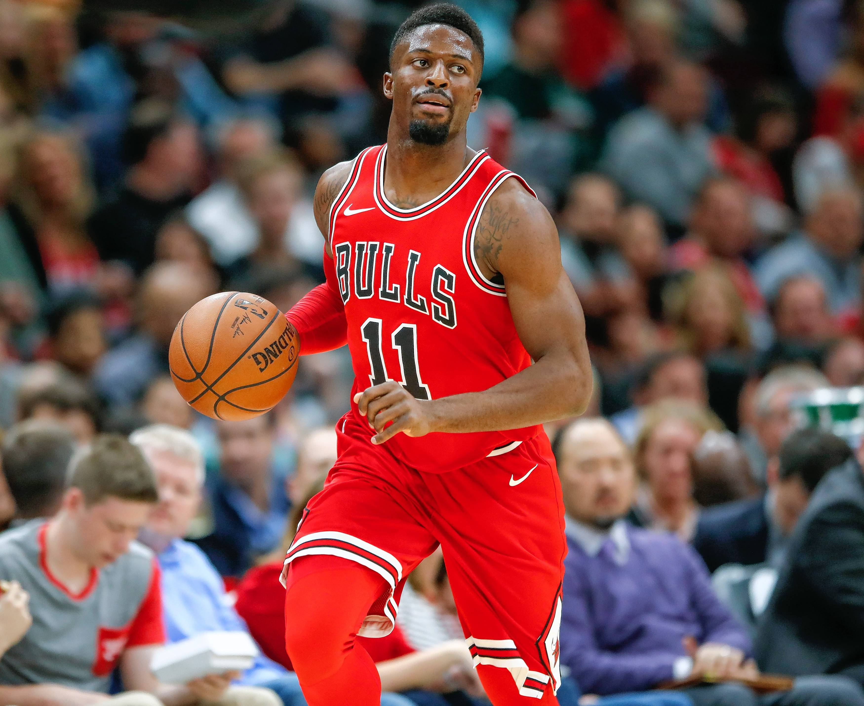 Chicago Bulls guard David Nwaba, now sidelined with an ankle injury, impressed coach Fred Hoiberg with his speed in the transition game.