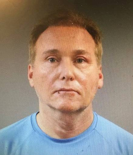 This photo provided by the Warren County Regional Jail shows Rene Boucher, who has been arrested and charged with assaulting and injuring U.S. Sen. Rand Paul of Kentucky. Kentucky State Police said in a news release Saturday, Nov. 4, 2017 that Paul suffered a minor injury when 59-year-old Rene Boucher assaulted him at his Warren County home on Friday afternoon. (Warren County Regional Jail via AP)