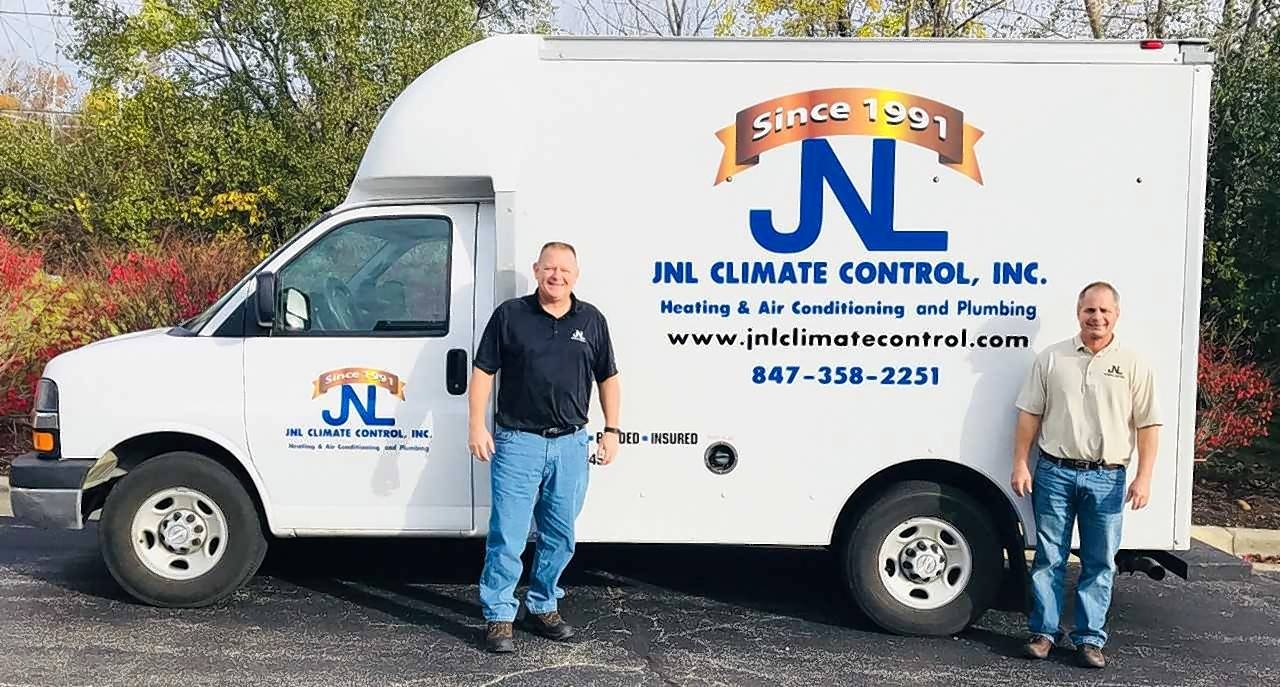 East Dundee-based JNL Climate Control acquired Sharks Plumbing & Sewer Inc. Vice President Kurt Olszewski and President  John Beening run the company.
