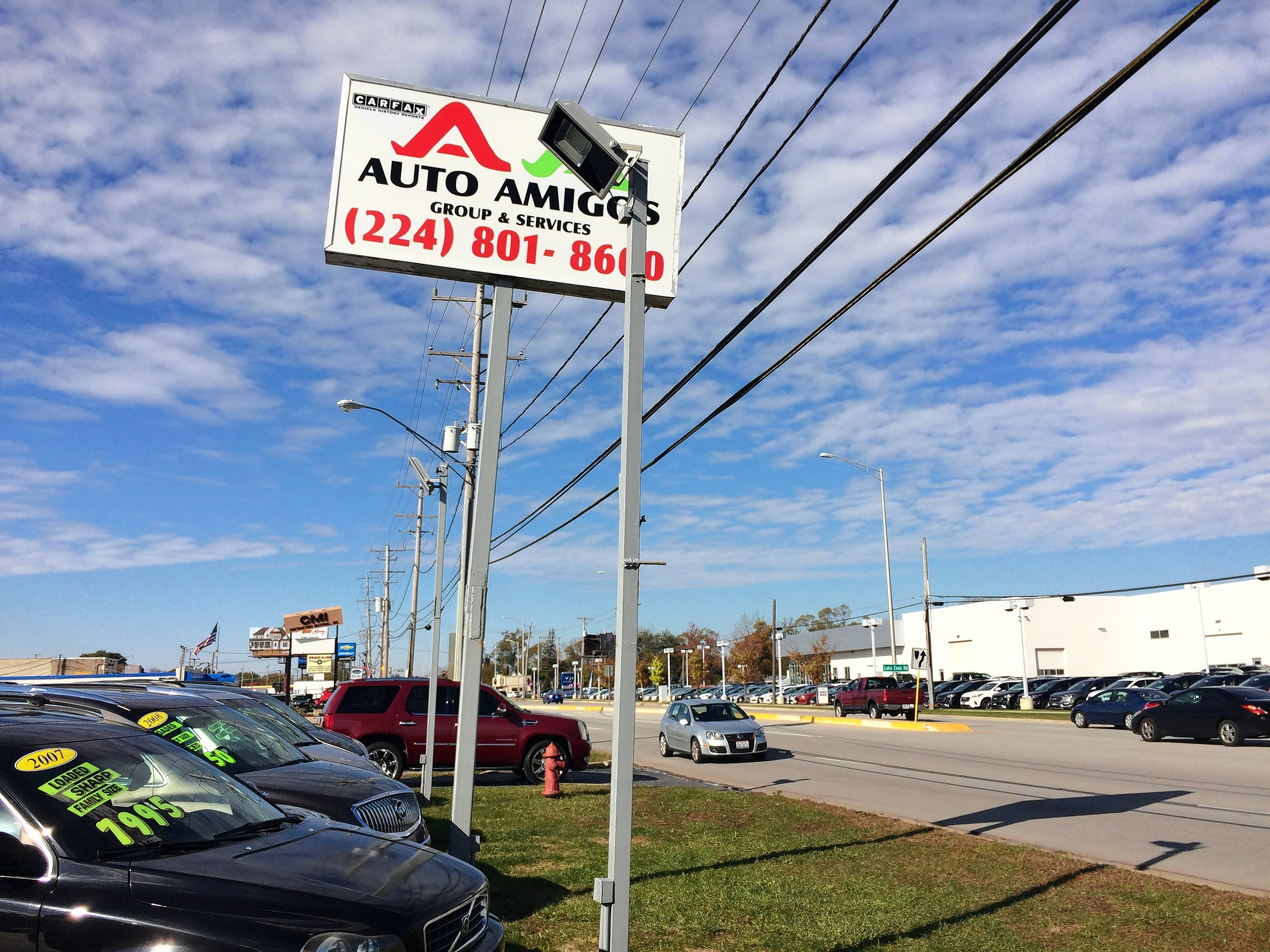 Auto Land Group Inc. is taking over the Auto Amigos Group and Services used-car business at 2240 N. Rand Road in Palatine. Auto Land plans to open in December.