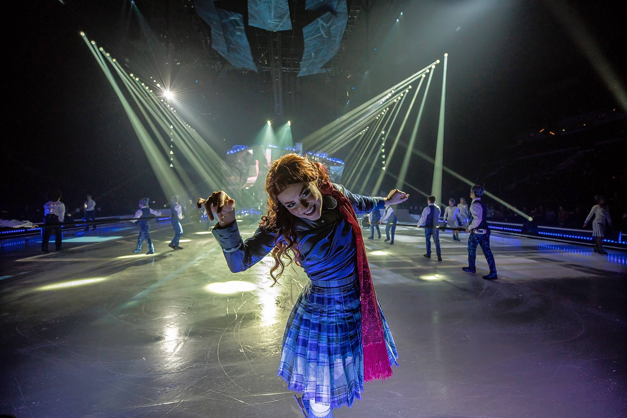 "Madeline Stammen, from St. Charles, stars in Cirque du Soleil's first ice show, ""Crystal,"" at the Sears Centre in Hoffman Estates Nov. 16-19."