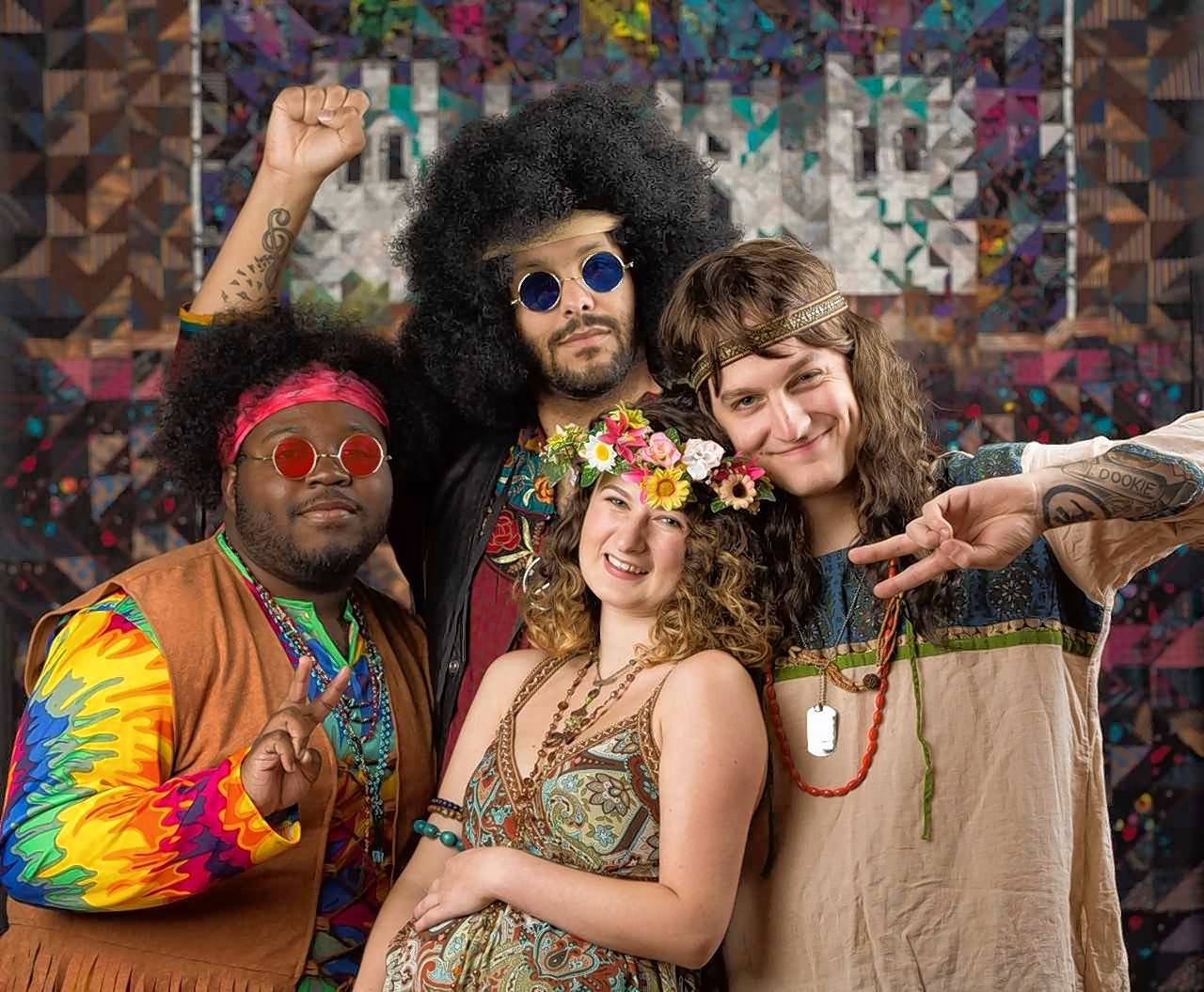 "It's The Age of Aquarius all over again with Harper College's 50th anniversary production of the musical ""Hair."""