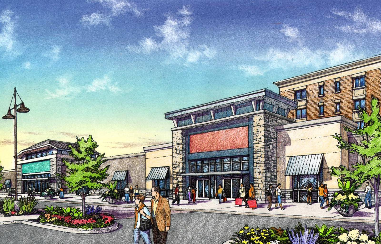 The Shops of Sabre Woods is one component of a new senior living/commercial development on the site of the former Sabre Room in Hickory Hills.