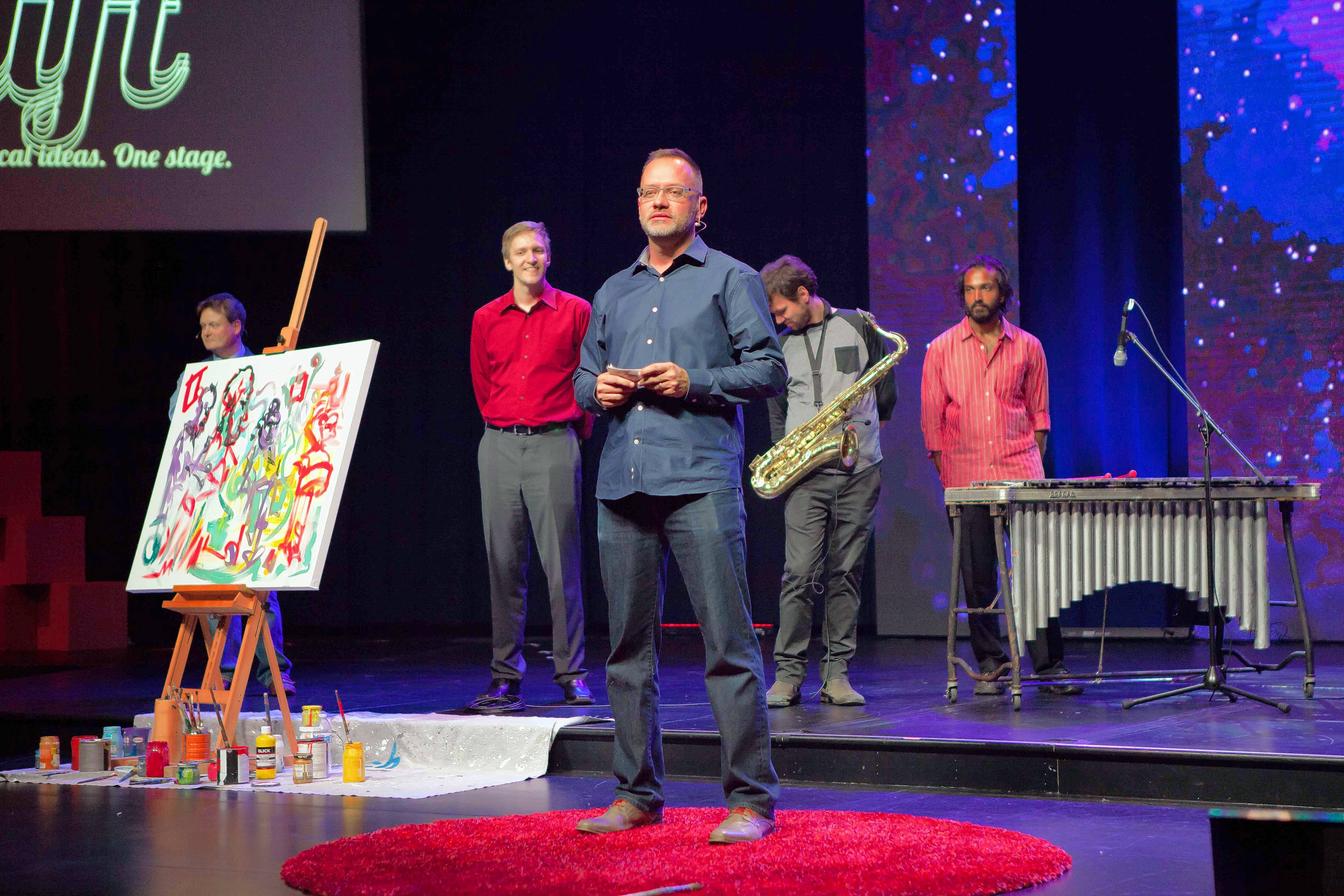 "Arthur Zards, founder and curator of the TEDxNaperville ideas conference heading into its eighth year, says this year's event on Friday will be ""multidimensional"" and ""provocative."""