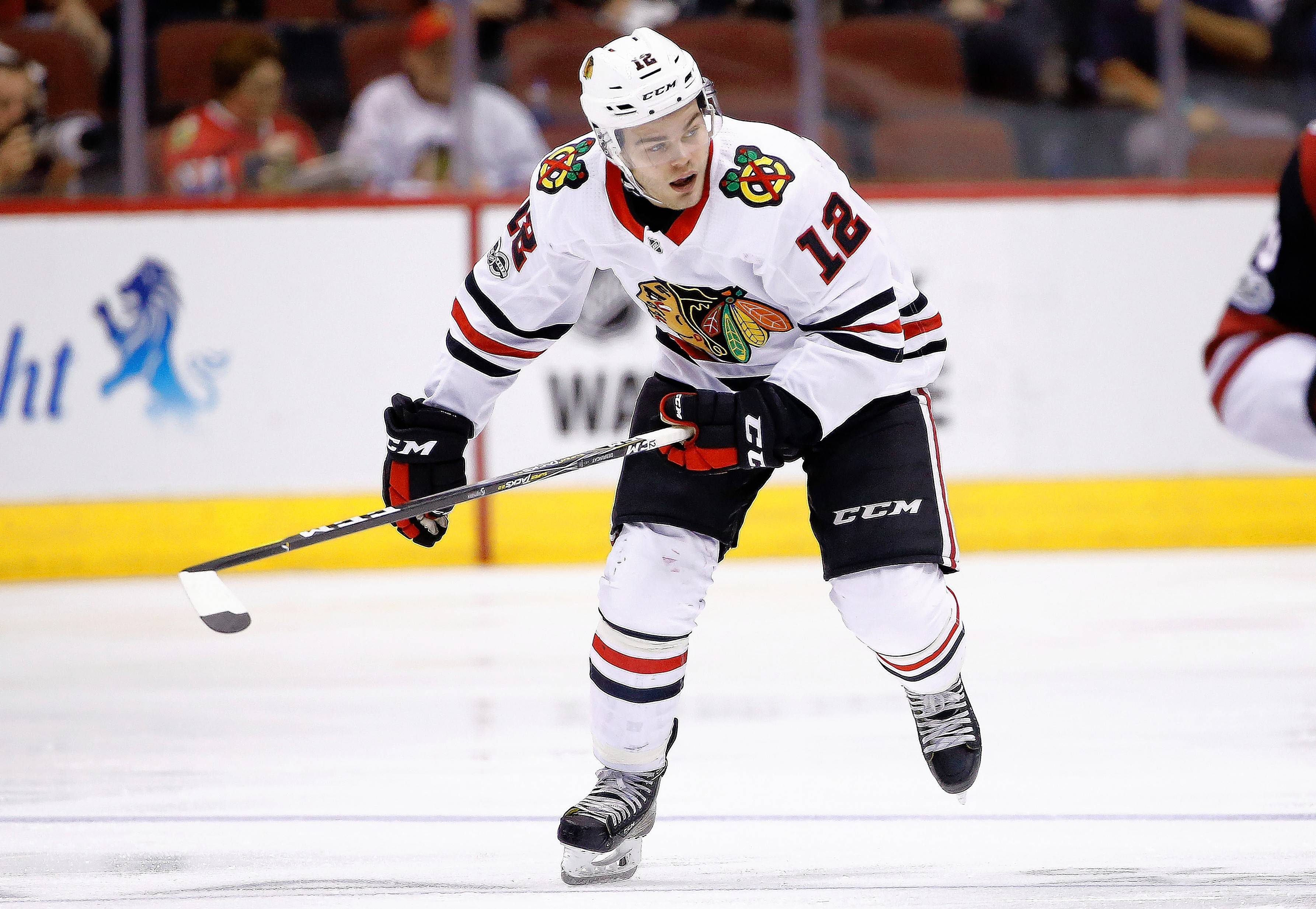 Alex DeBrincat's ability to make plays and be in the right spot has impressed Chicago Blackhawks coach Joel Quenneville.