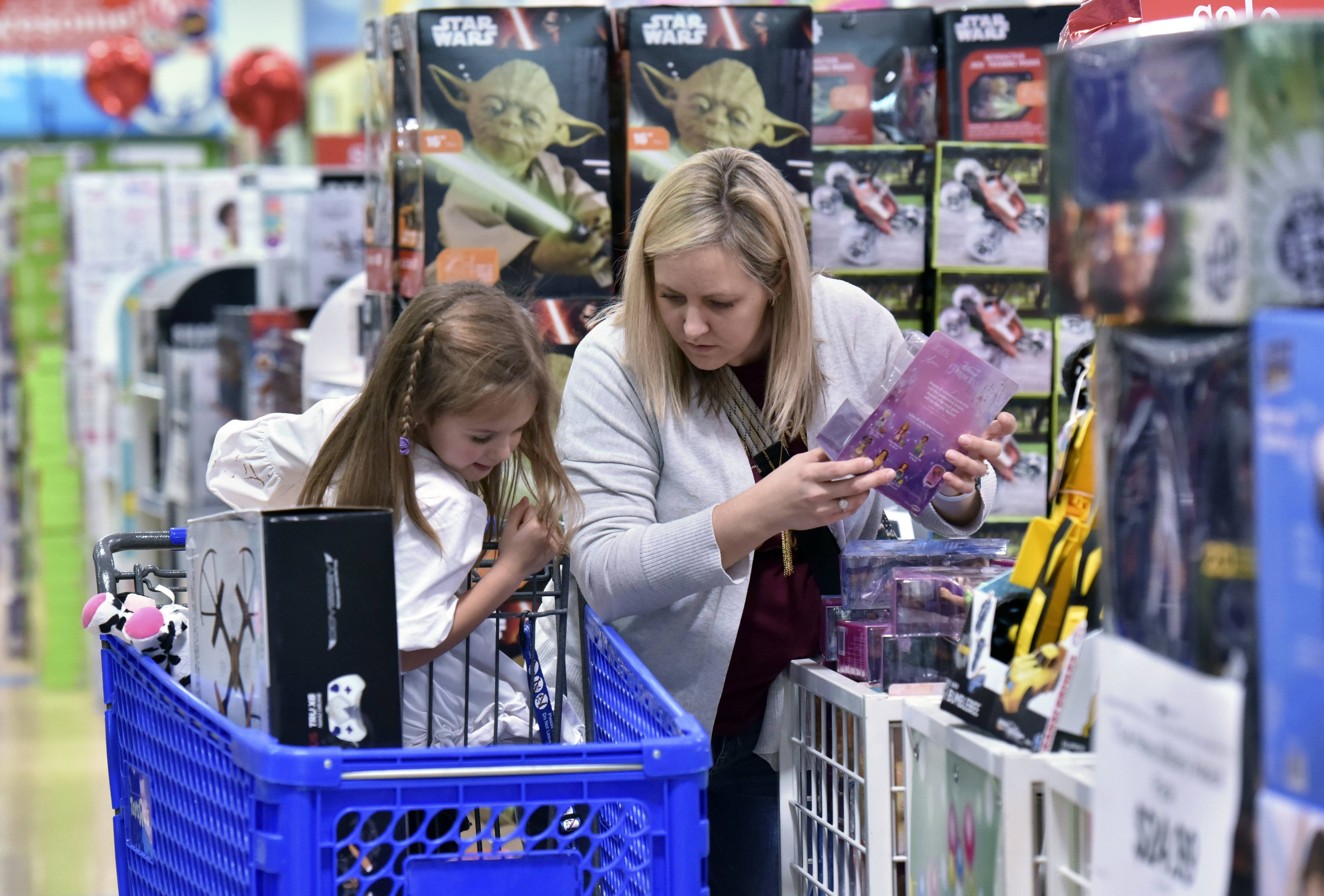 In-store doorbusters are shifting earlier, too. J.C. Penney plans to open its stores at 2 p.m. on Thanksgiving Day, while Toys R Us, Best Buy and Kohl's will follow three hours later. Walmart and Target are planning to open at 6 p.m.