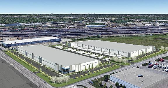 Morgan /Harbour Construction will build two speculative warehouse facilities for CenterPoint Properties in the CenterPoint Logistics Center — O'Hare in Franklin Park.