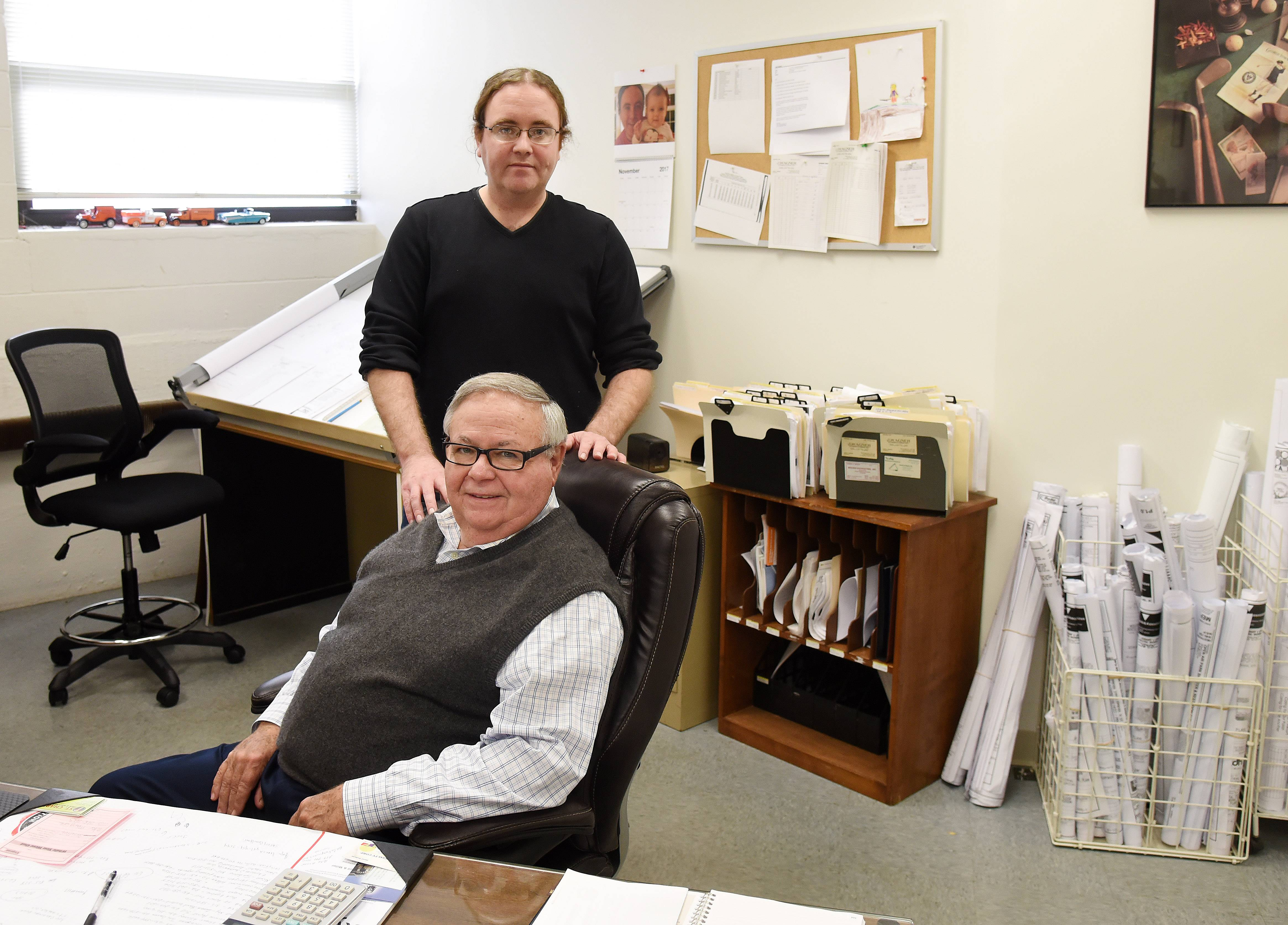 Jack Wagner and his son, Dan, are the latest caretakers in the family business, J.L. Wagner Plumbing and Piping, which has been around for more than 100 years.