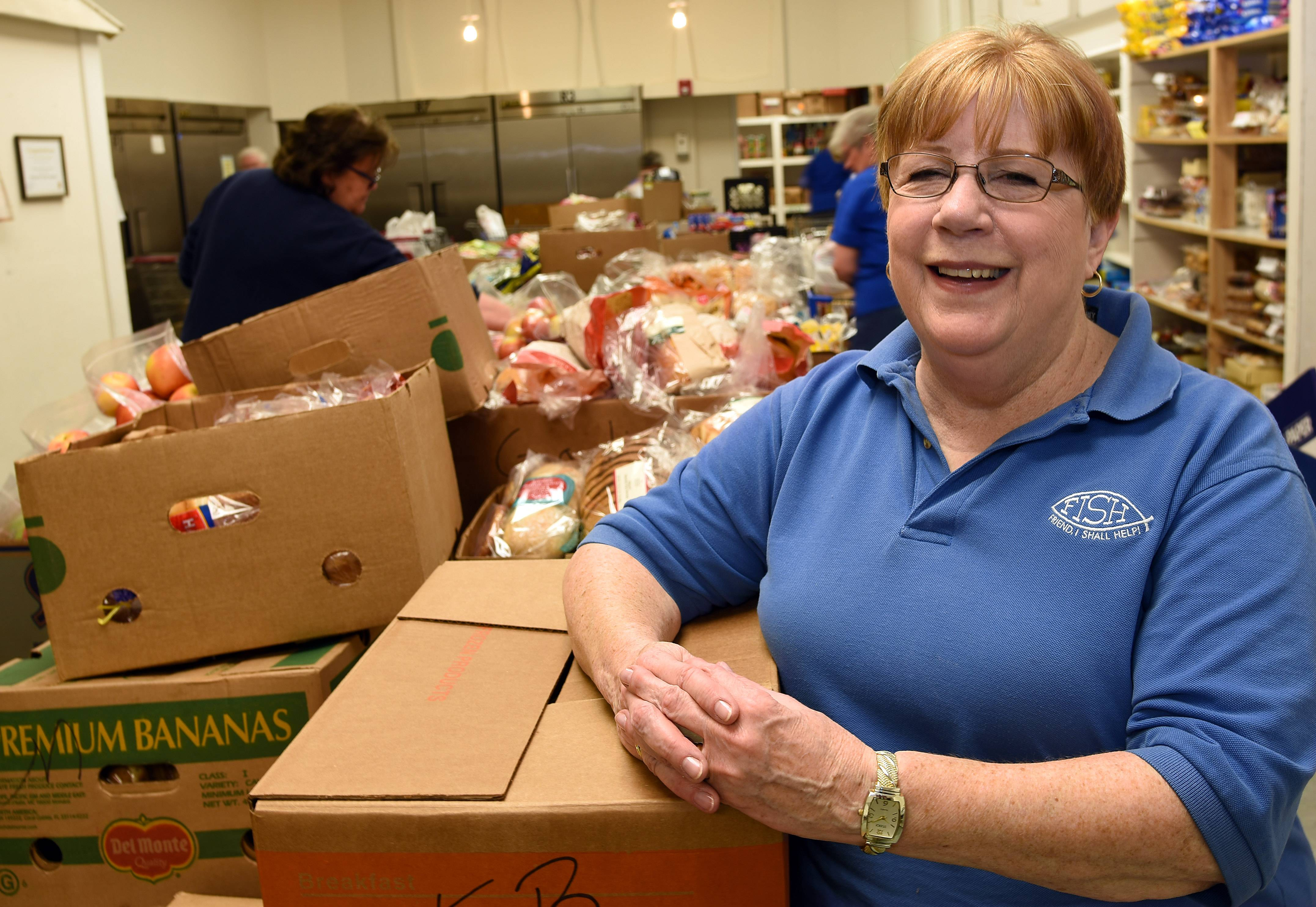 FISH Food Pantry in Carpentersville has seen a significant decline in donations in the wake of several national and global disasters, said nonprofit President Mary Graziano.