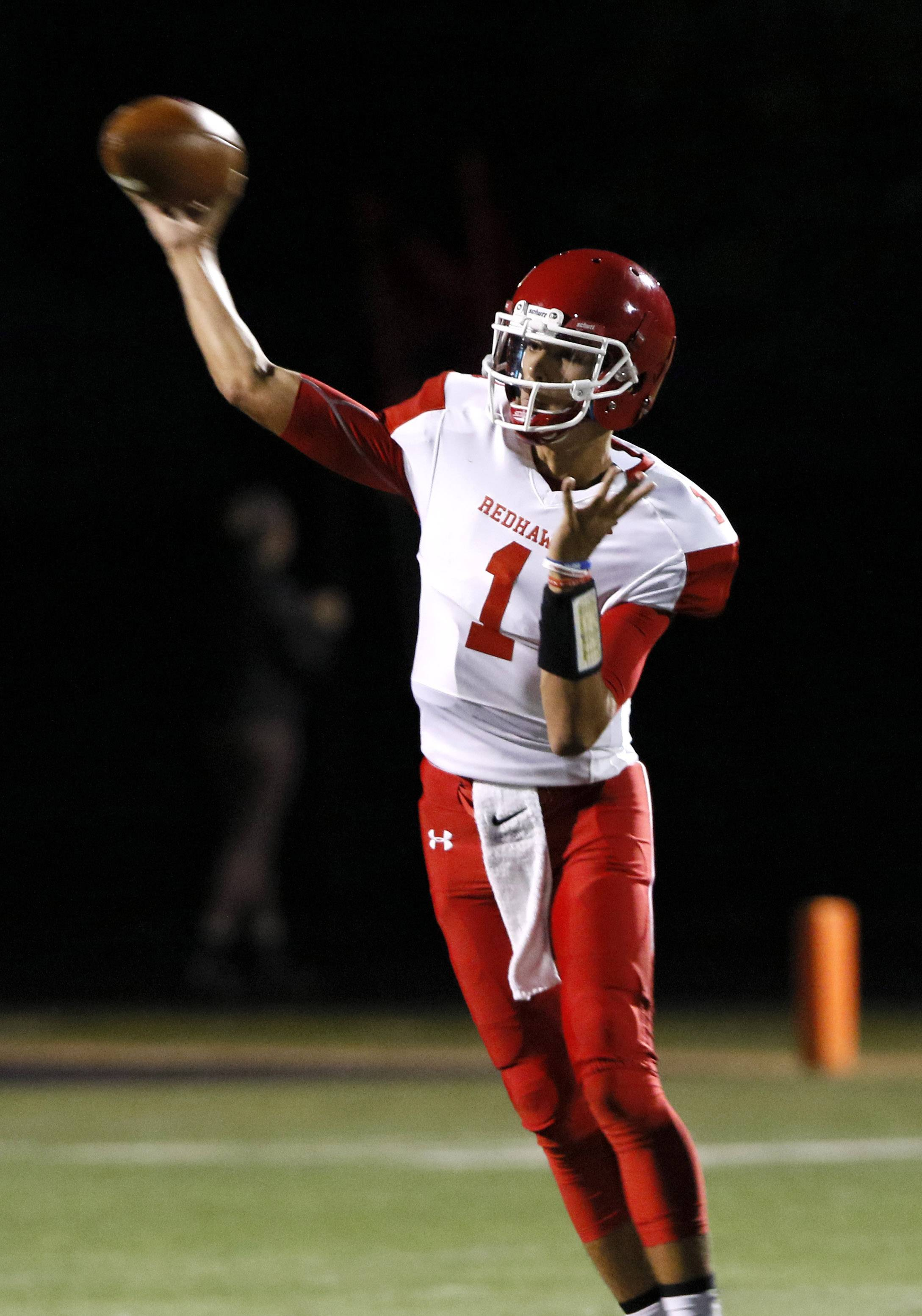 Naperville Central and quarterback Payton Thorne will be at Maine South Saturday for a Class 8A quarterfinal.