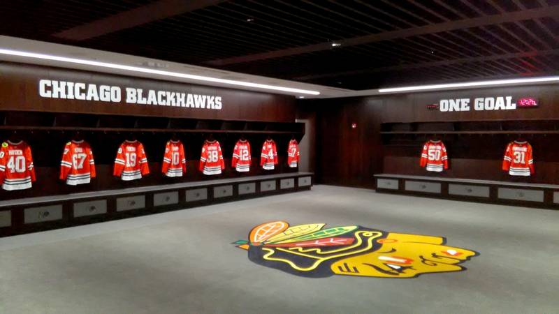 City leaders wowed by new Blackhawks training facility