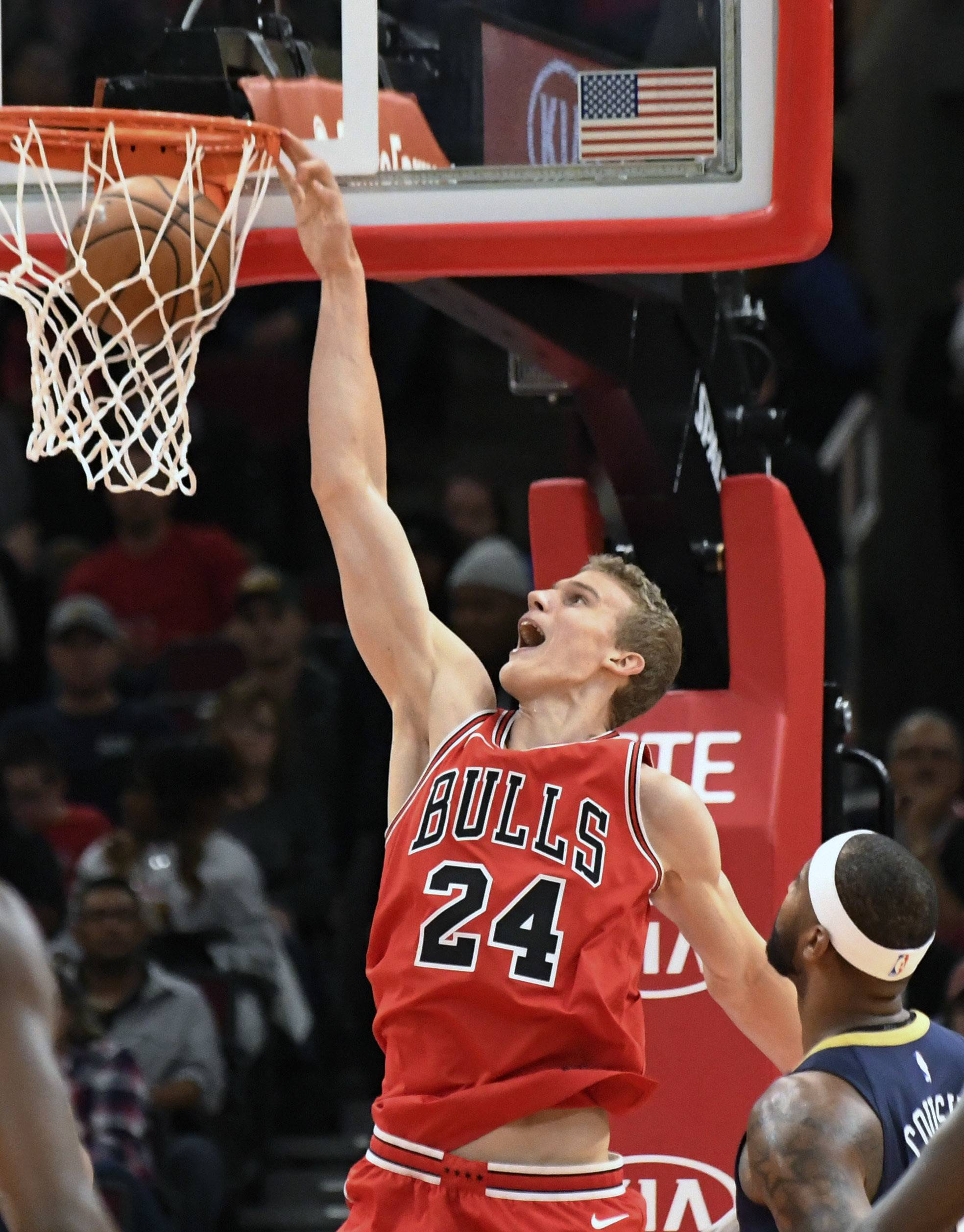 Chicago Bulls rookie forward Lauri Markkanen has averaged 32.6 minutes per game this season. He leads the team in scoring and rebounding.