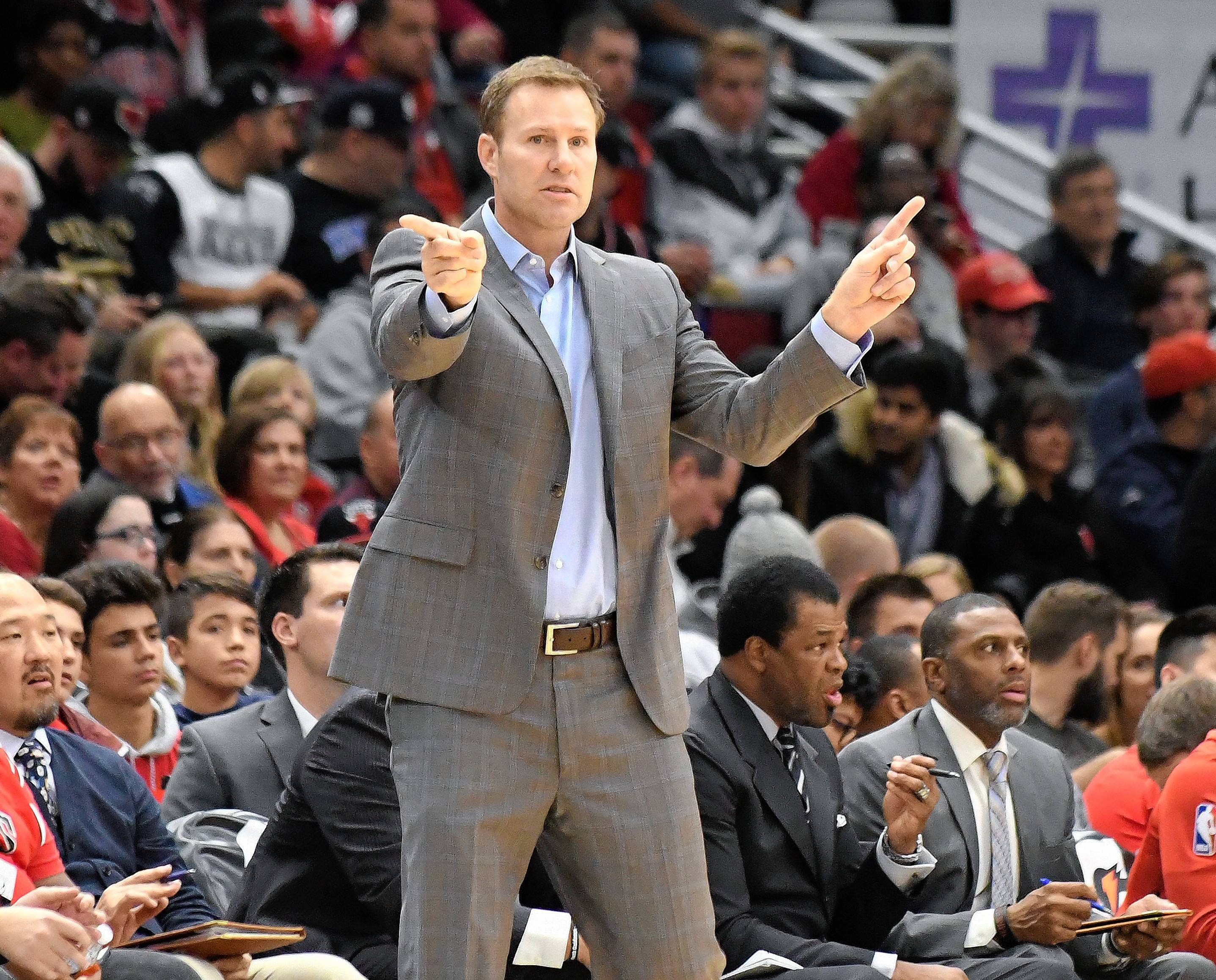 Chicago Bulls head coach Fred Hoiberg credits his veteran players will helping to keep younger teammates focused.