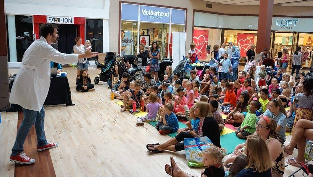The WTTW Kids BIG IDEA outreach tour, shown during a stop this summer at Gurnee Mall, will be at Gail Borden Public Library on Thursday, Nov. 16.