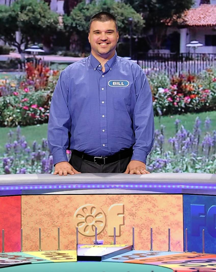 U.S. Army veteran Bill Swiniuch of Mount Prospect competed on Wheel of Fortune Friday and left with some winnings.