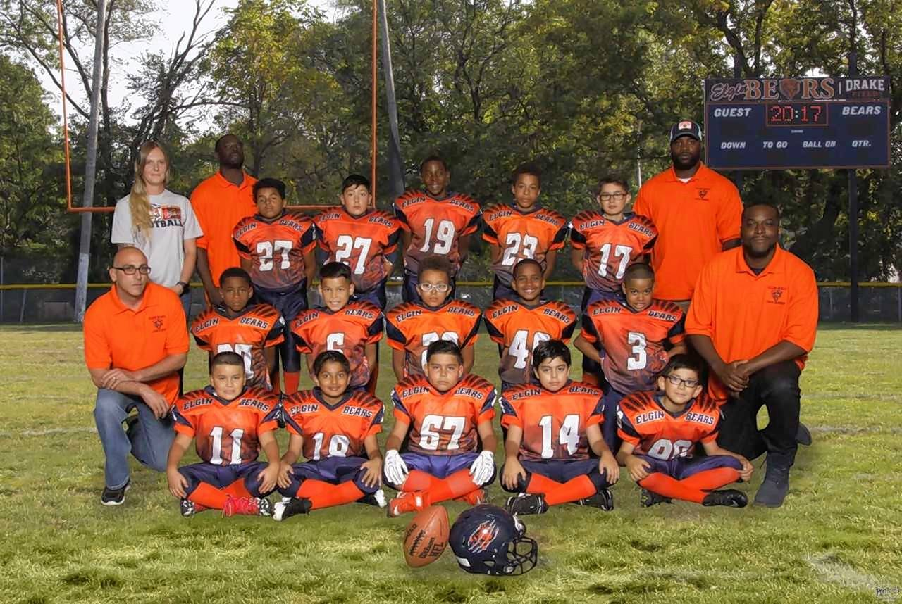 Elgin Youth Football's Featherweight PAC 10 team plays Sunday against the Wauconda Bulldogs in the Chicagoland Youth Football League's Super Bowl.