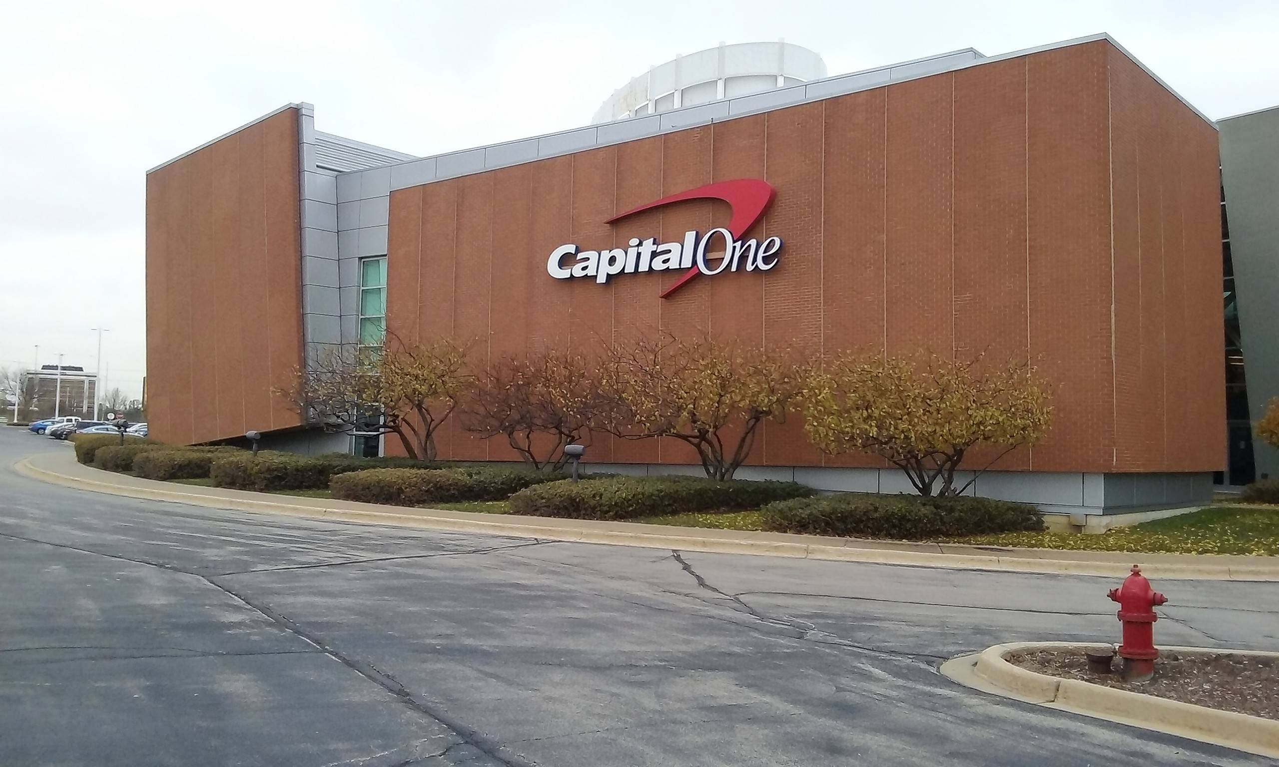 Capital One plans to lay off 452 workers from this Rolling Meadows call center starting next month amid declining call volumes.