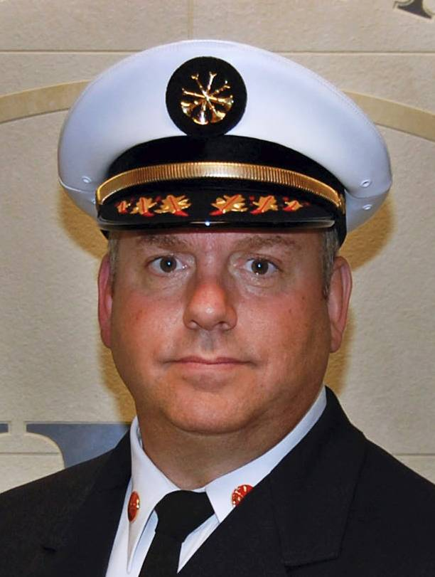 Hoffman Estates Fire Chief Jeff Jorian
