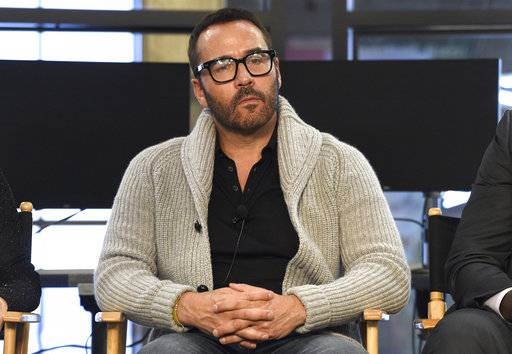 "FILE - In this Aug. 1, 2017 file photo, Jeremy Piven participates in the ""Wisdom of the Crowd"" panel during the CBS Television Critics Association Summer Press Tour at CBS Studio Center in Beverly Hills, Calif.  Piven has responded to another allegation of sexual misconduct against him by saying he hopes the string sexual harassment allegations sweeping Hollywood will lead to ""a constructive dialogue on these issues.� Piven made the statement on Twitter while denying an accusation made against him from an advertising executive. (Photo by Chris Pizzello/Invision/AP, File)"
