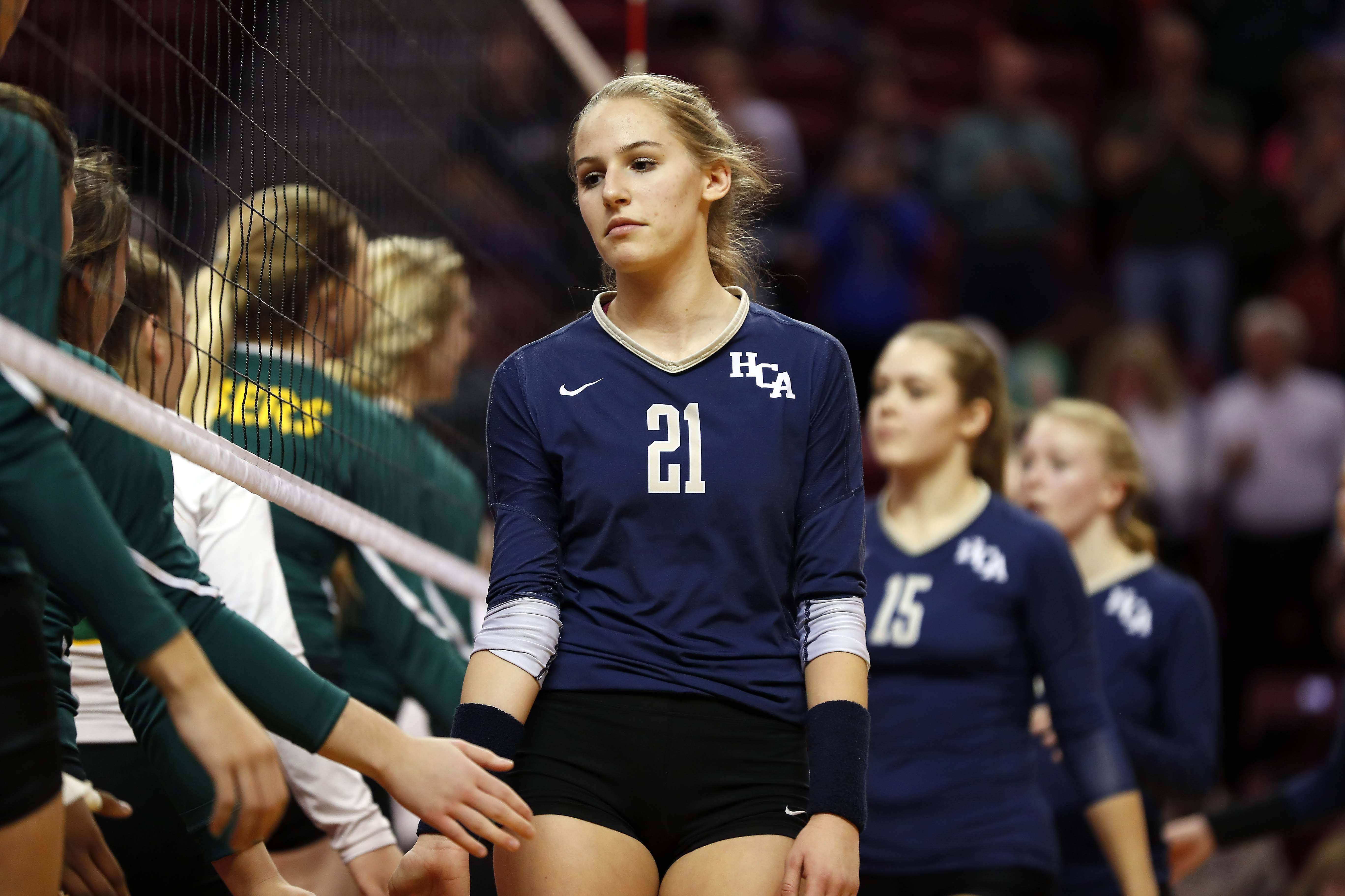 Girls volleyball: St. Thomas More takes out Harvest Christian