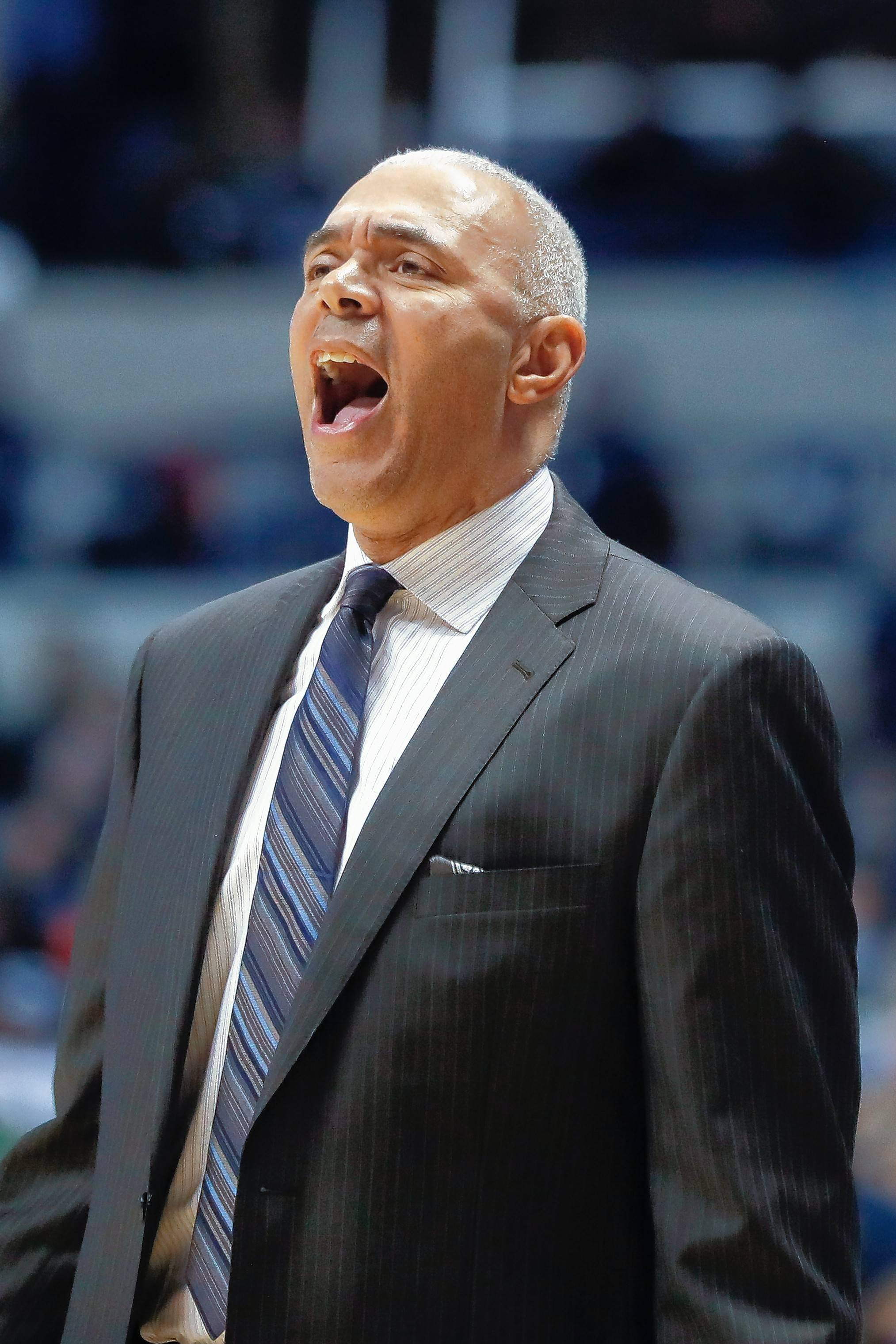 DePaul will officially open the new Wintrust Arena in the South Loop on Saturday against No. 14 Notre Dame. The Blue Demons are counting on several newcomers this season and head coach Dave Leitao believes the talent level is rising.