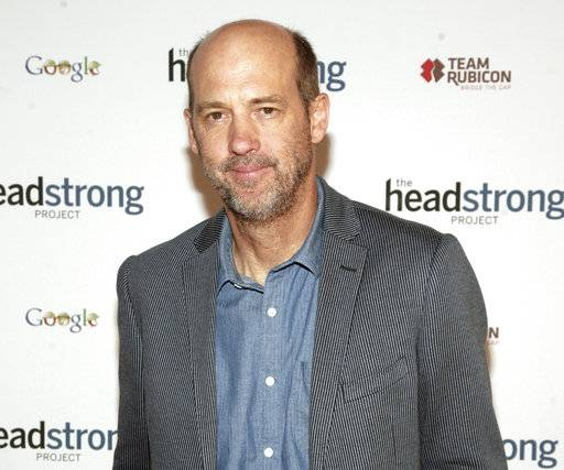 "FILE - In this May 8, 2013 file photo, actor Anthony Edwards attends The Headstrong Project Words Of War event in New York. A spokesman for a producer accused of molesting Edwards is denying the ""ER"" actor's claims. Sam Singer is a spokesman for producer and director Gary Goddard. He says in a statement issued Friday night, Nov. 10, 2017, that the producer unequivocally denies Edwards' claims that were published in a post on the website Medium earlier in the day. (Photo by Andy Kropa/Invision/AP, File)"