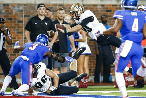newest 79649 1a3fb Multiple playmakers fuel No. 14 UCF's explosive offense