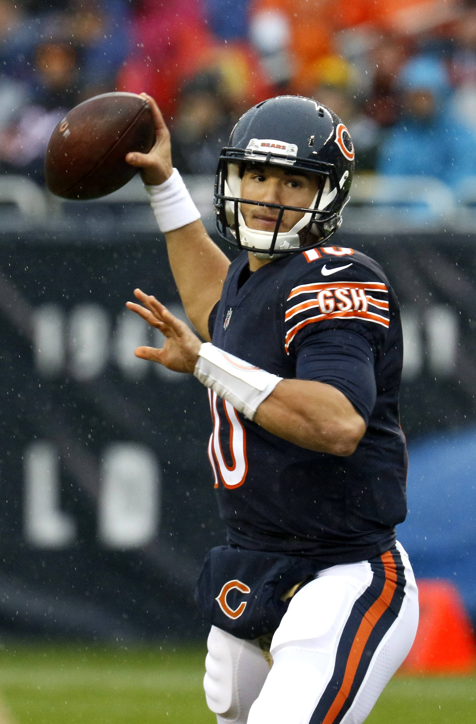 Chicago Bears' Trubisky puts up strong numbers in loss