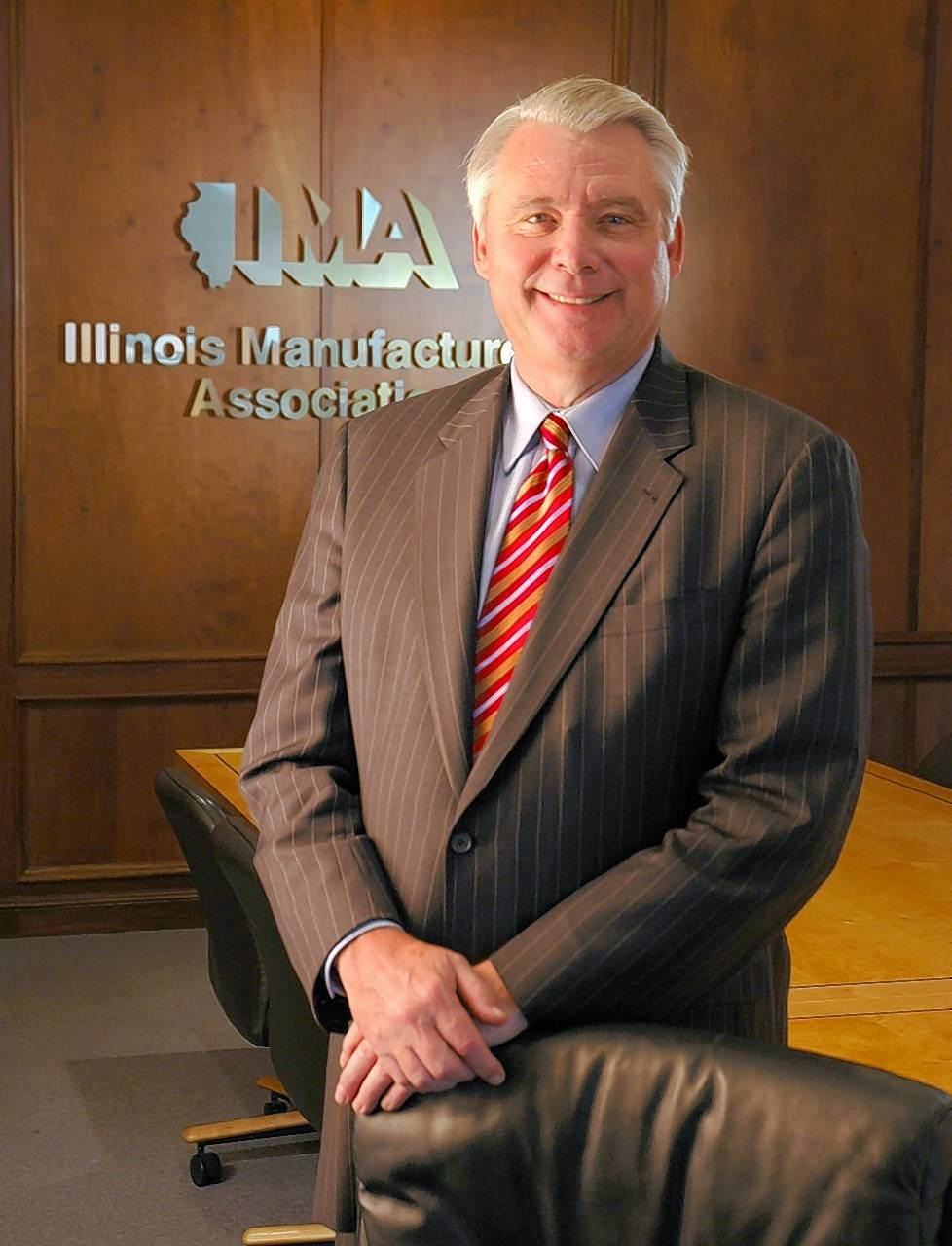 Greg Baise, president and CEO of the Illinois Manufacturers' Association.