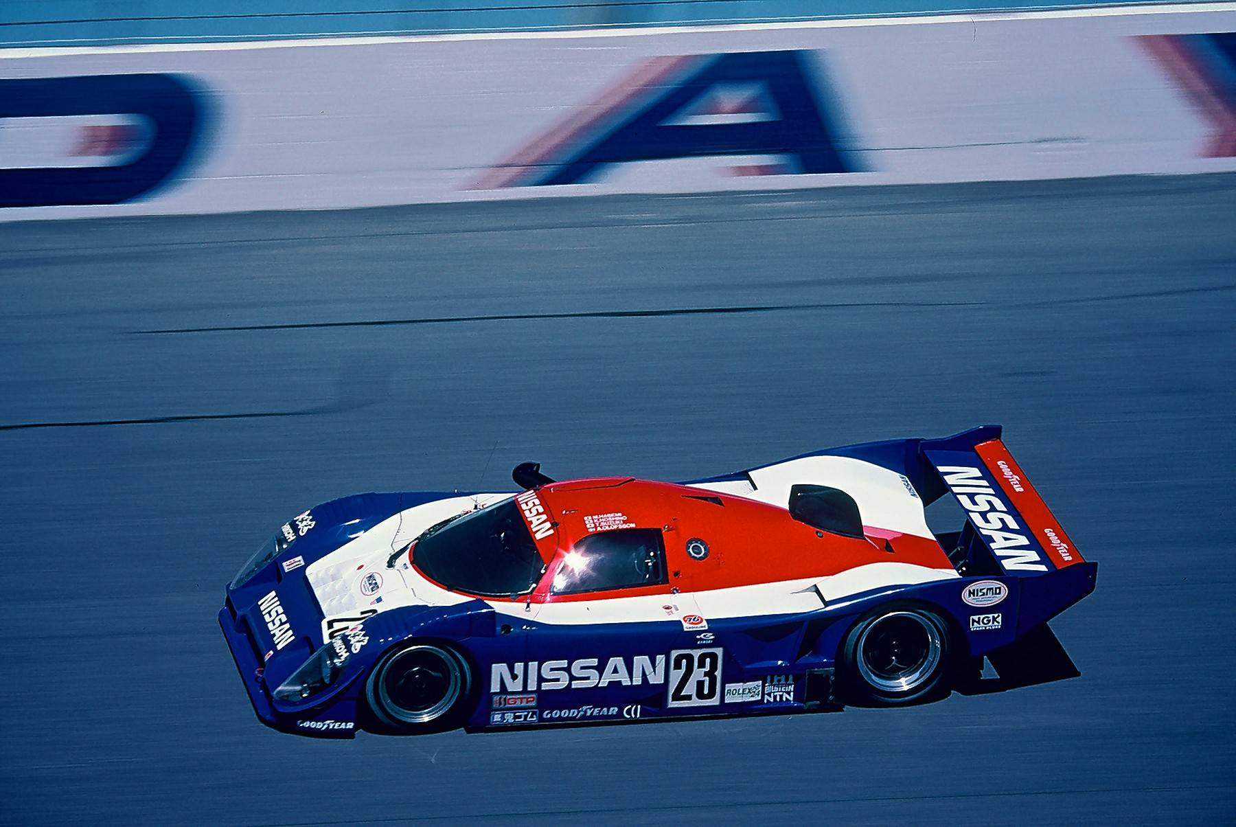 No. 15. Nissan R91CP, winner of the Daytona 24 Hour in 1992.