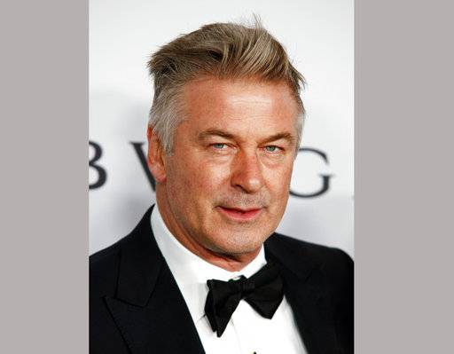 "FILE - In this Nov. 7, 2017 file photo, actor Alec Baldwin attends the Elton John AIDS Foundation's 25th Anniversary Gala in New York. Baldwin has settled a lawsuit in which he had accused a prominent New York City art dealer of fraud. The actor tells The New Yorker that gallery owner Mary Boone agreed to write him a ""seven-figure check� to settle his allegation that she sold him a copy of a 1996 Ross Bleckner painting called ""Sea and Mirror,"" rather than the original. (Photo by Andy Kropa/Invision/AP, File)"