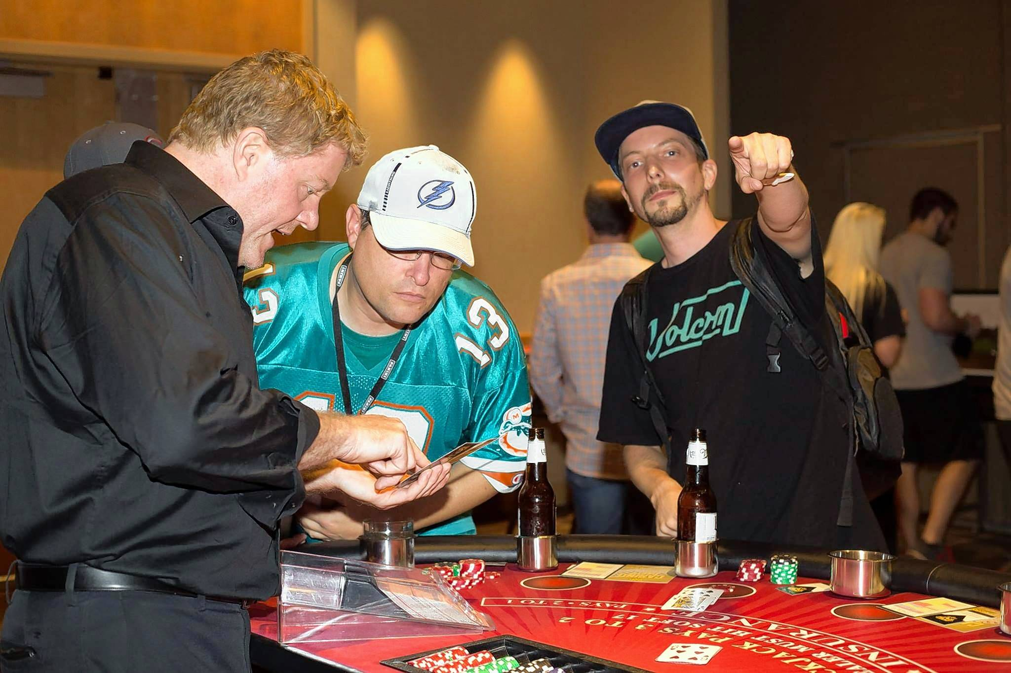 GSH Casino Parties specializes in bringing the games of the Vegas strip to any location, including clients' homes.