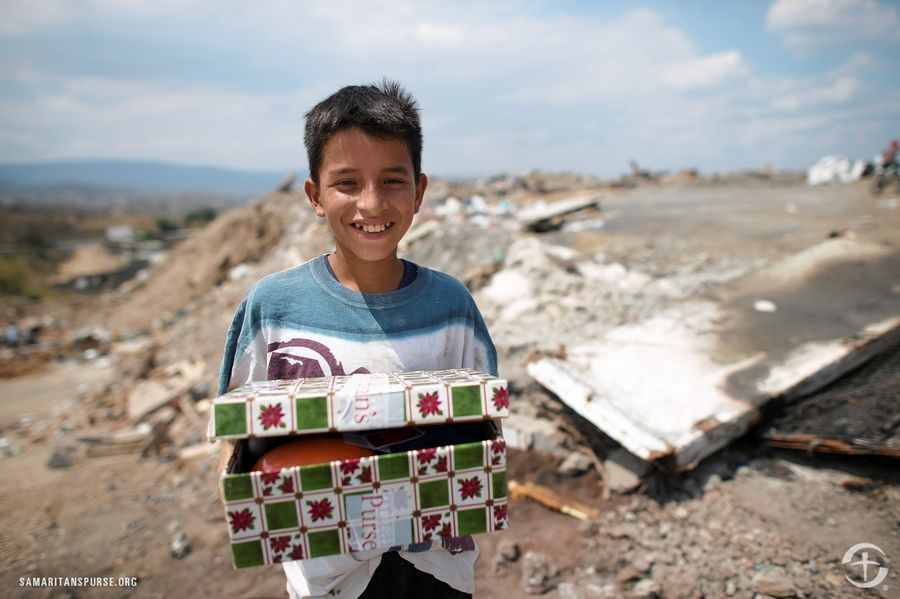Bring your donations for Operation Christmas Child shoe box gifts