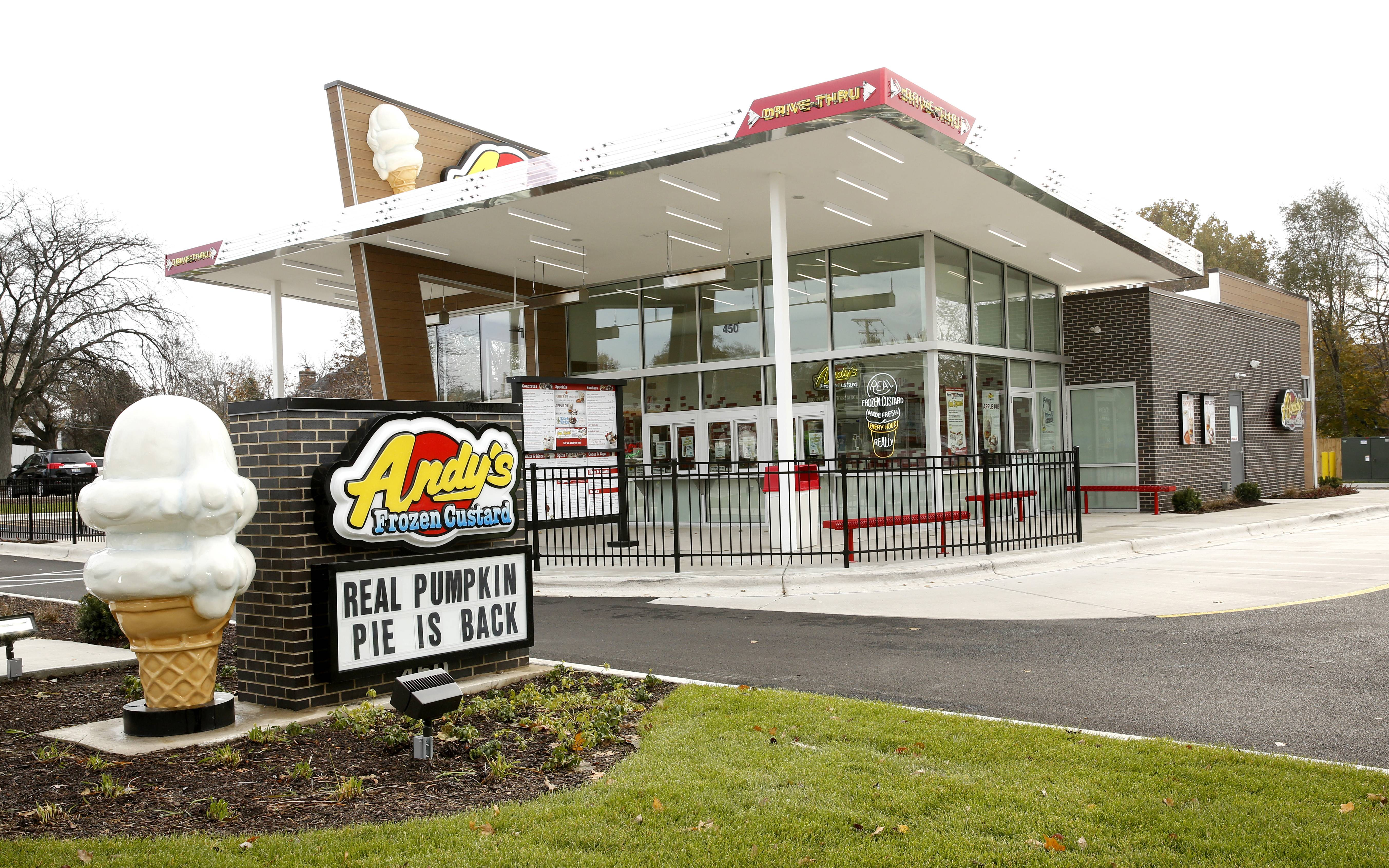 Andy's Frozen Custard intends to open Glen Ellyn shop